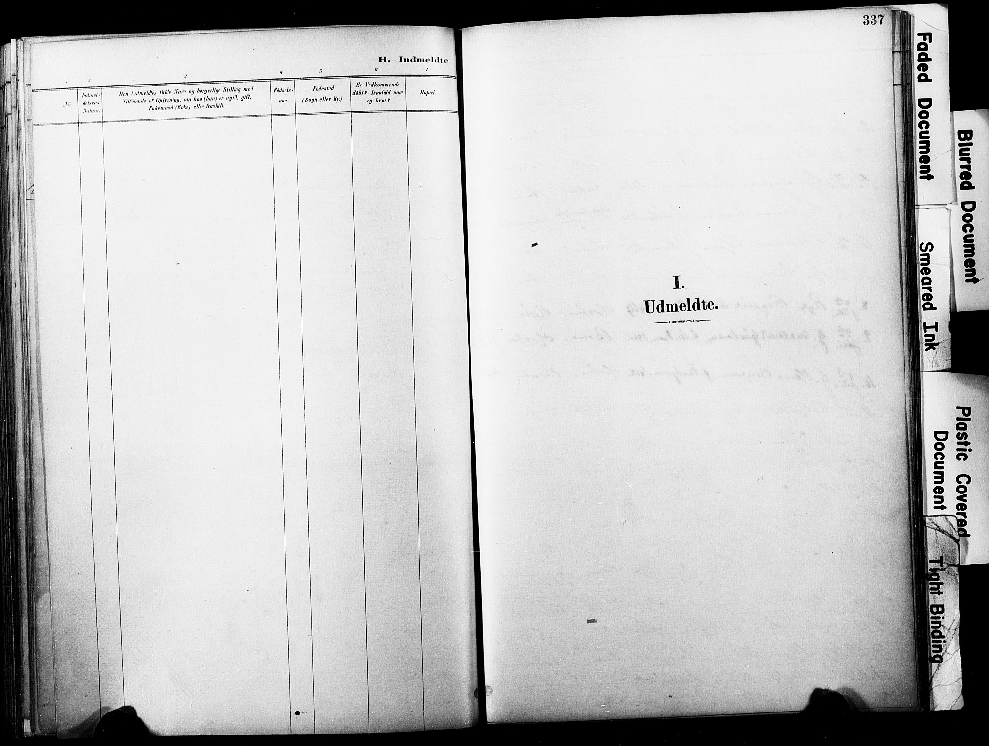 SAKO, Horten kirkebøker, F/Fa/L0004: Parish register (official) no. 4, 1888-1895, p. 337