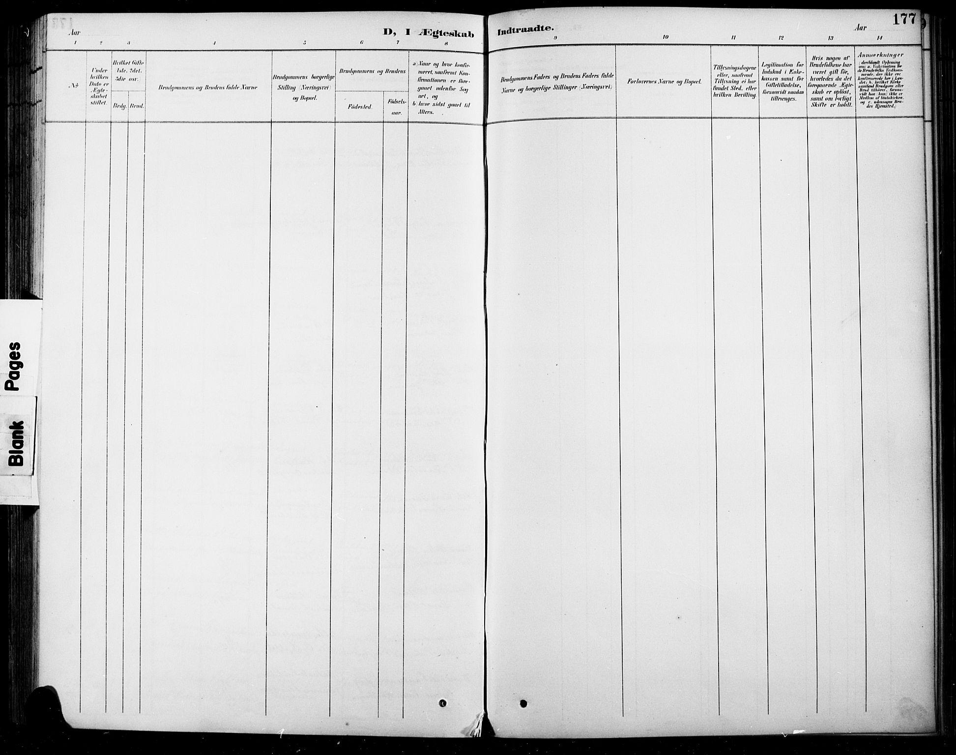 SAH, Sel prestekontor, Parish register (copy) no. 5, 1894-1923, p. 177