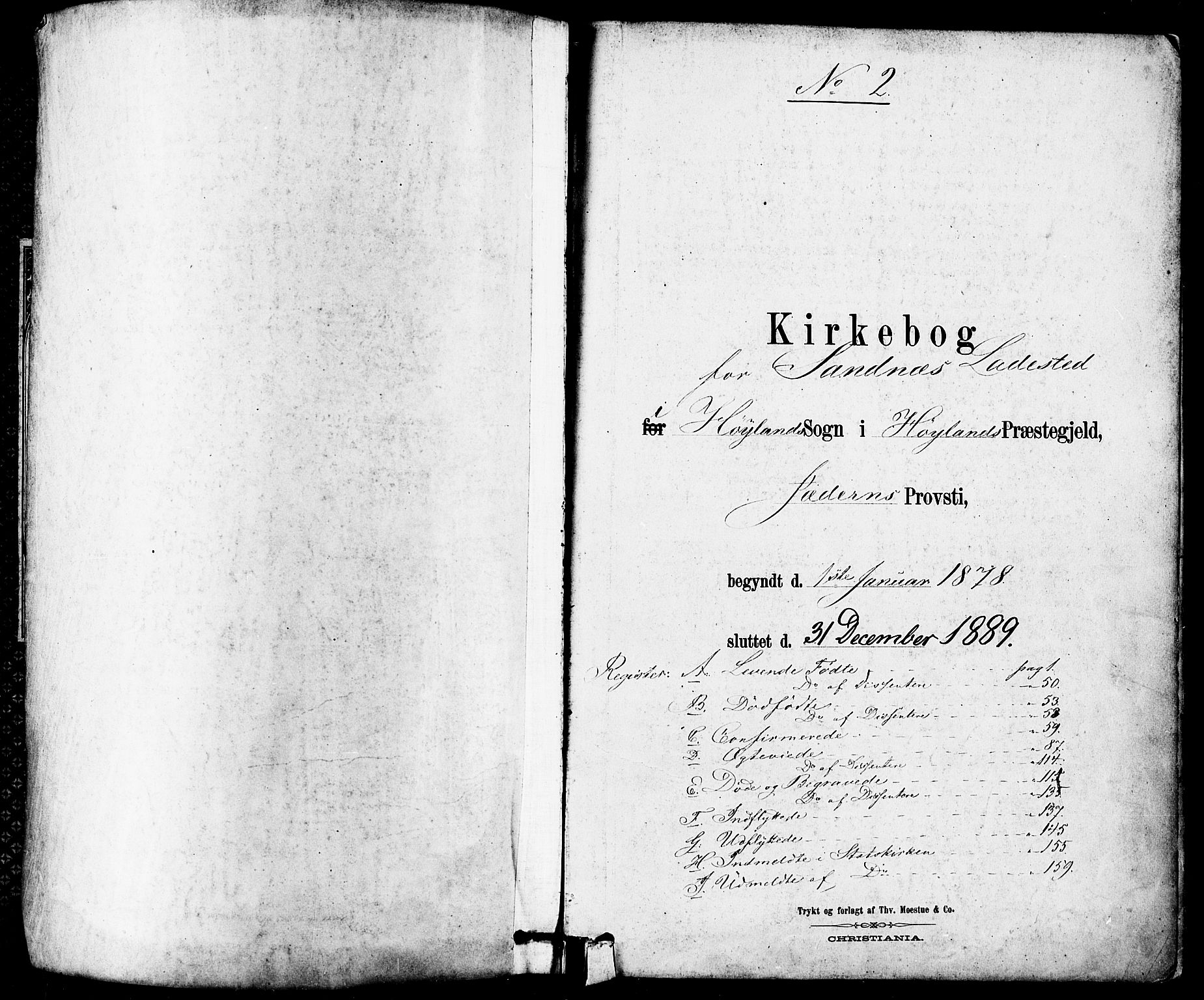 SAST, Høyland sokneprestkontor, 30BA/L0012: Parish register (official) no. A 11, 1878-1889