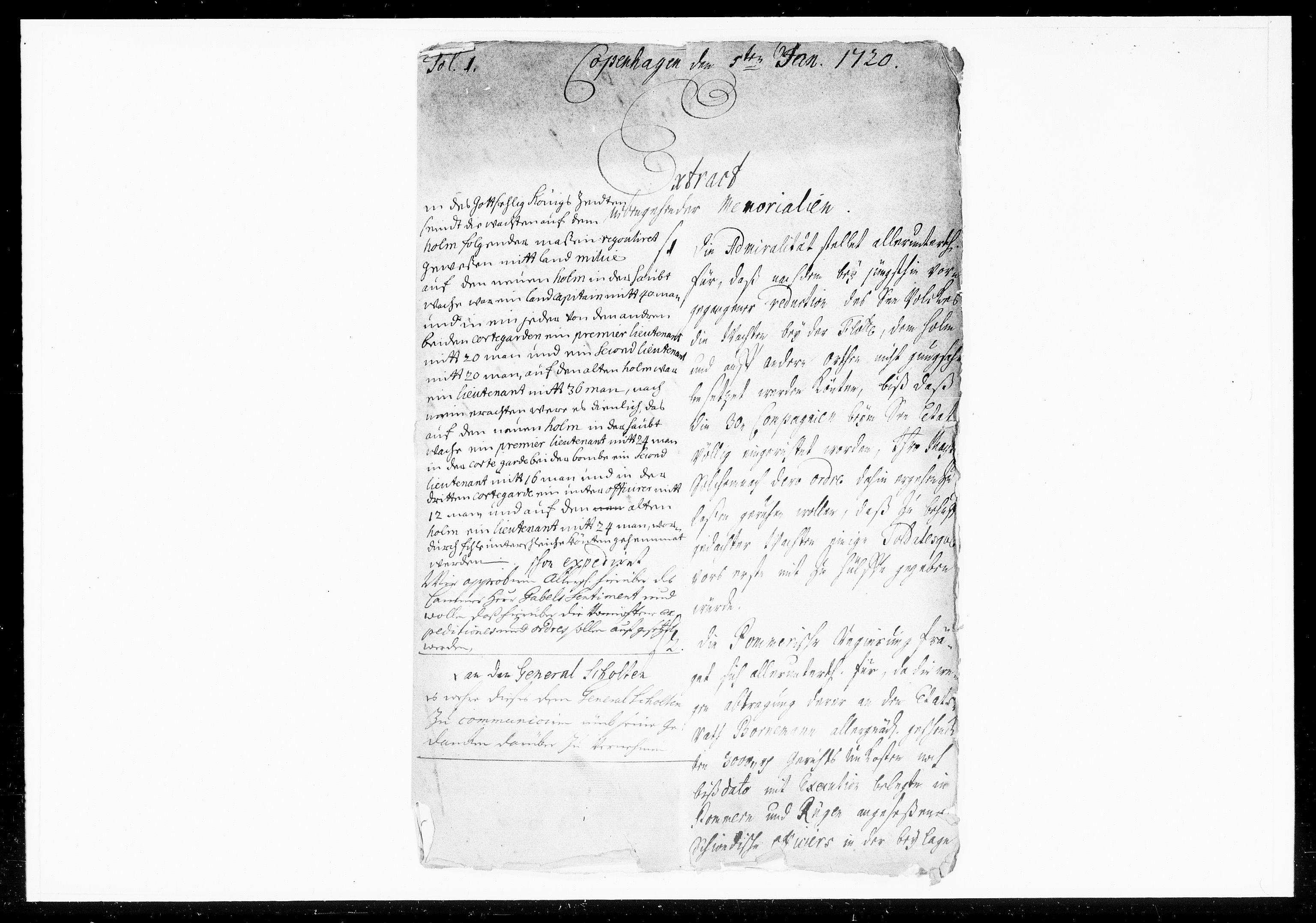 DRA, Krigskollegiet, Krigskancelliet, -/1057-1060: Refererede sager, 1720, p. 3