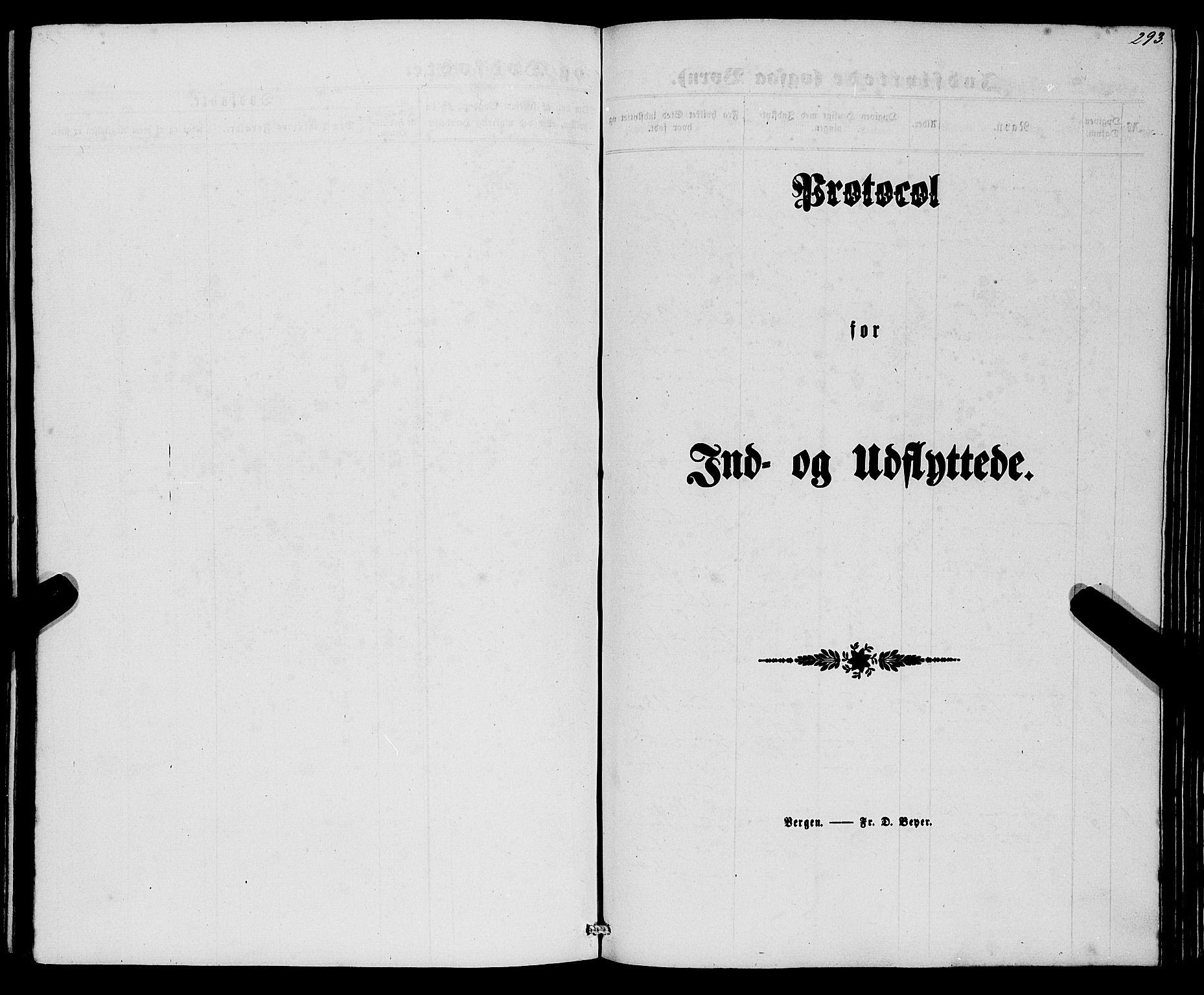 SAB, Eid Sokneprestembete, H/Haa: Parish register (official) no. A 8, 1858-1860, p. 293