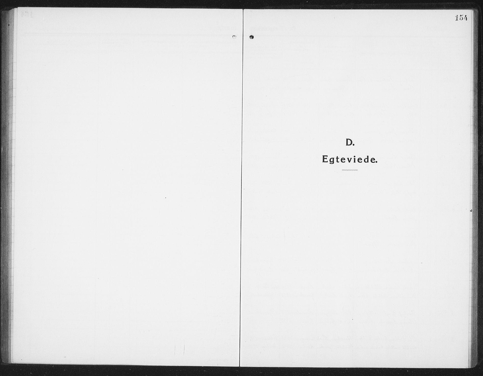 SAT, Ministerialprotokoller, klokkerbøker og fødselsregistre - Nordland, 898/L1428: Parish register (copy) no. 898C03, 1918-1938, p. 154