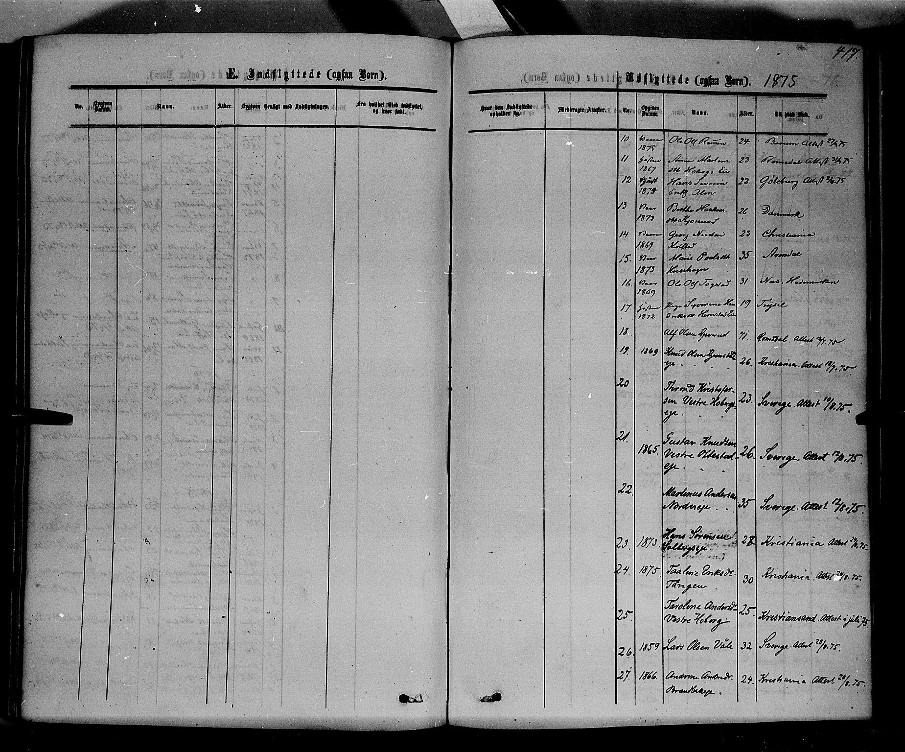SAH, Stange prestekontor, K/L0013: Parish register (official) no. 13, 1862-1879, p. 417