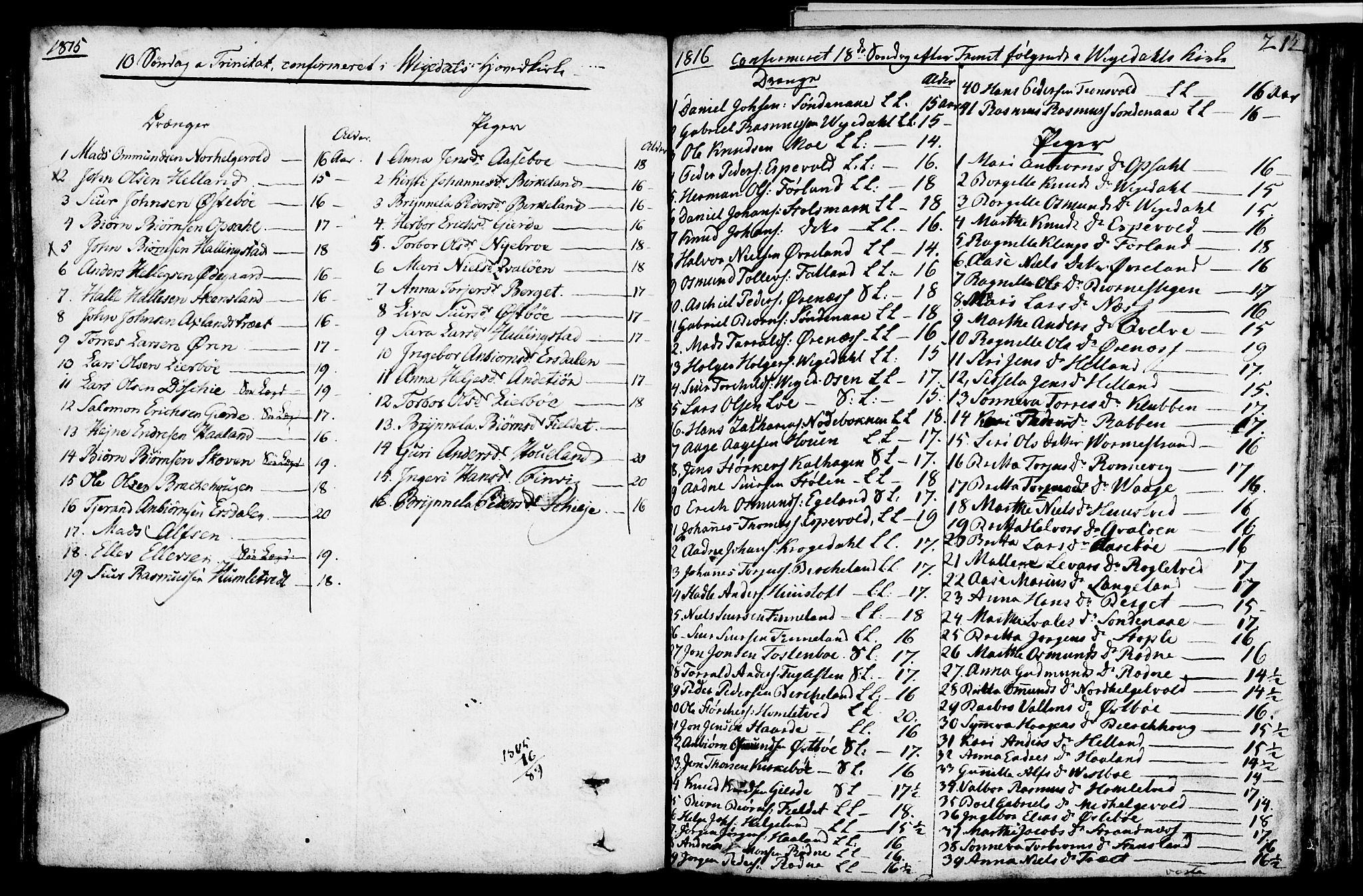 SAST, Vikedal sokneprestkontor, IV: Parish register (official) no. A 2, 1779-1817, p. 212