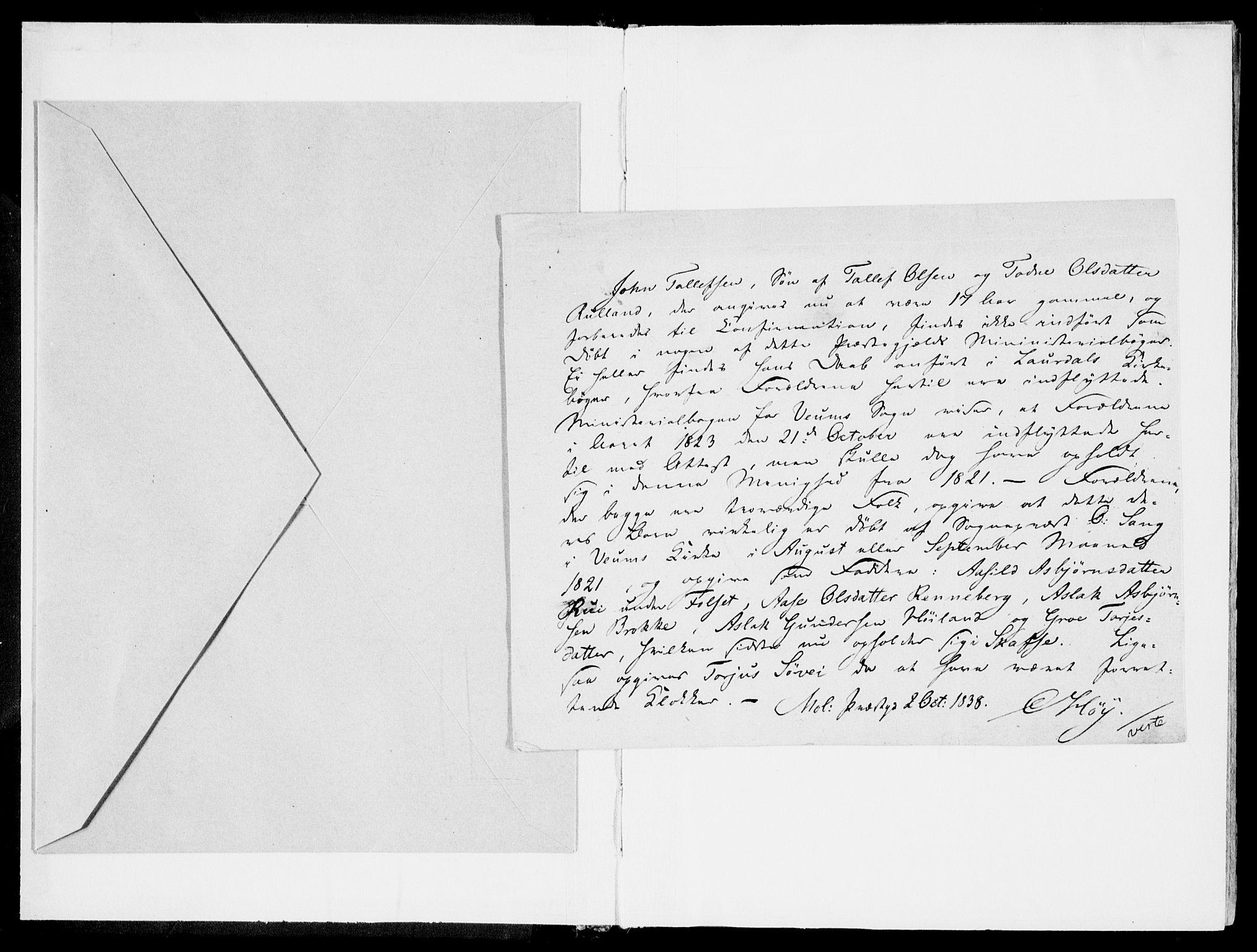 SAKO, Fyresdal kirkebøker, F/Fb/L0001: Parish register (official) no. II 1, 1815-1854