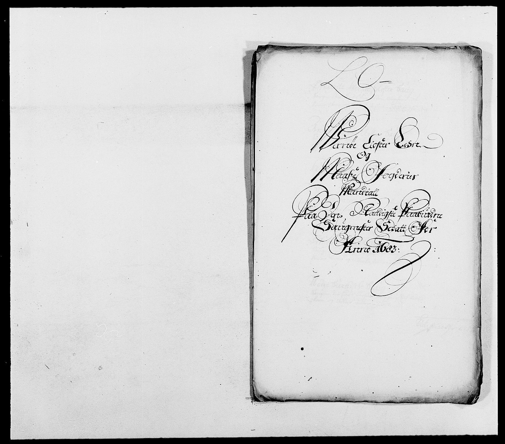 RA, Rentekammeret inntil 1814, Reviderte regnskaper, Fogderegnskap, R02/L0103: Fogderegnskap Moss og Verne kloster, 1682-1684, p. 416
