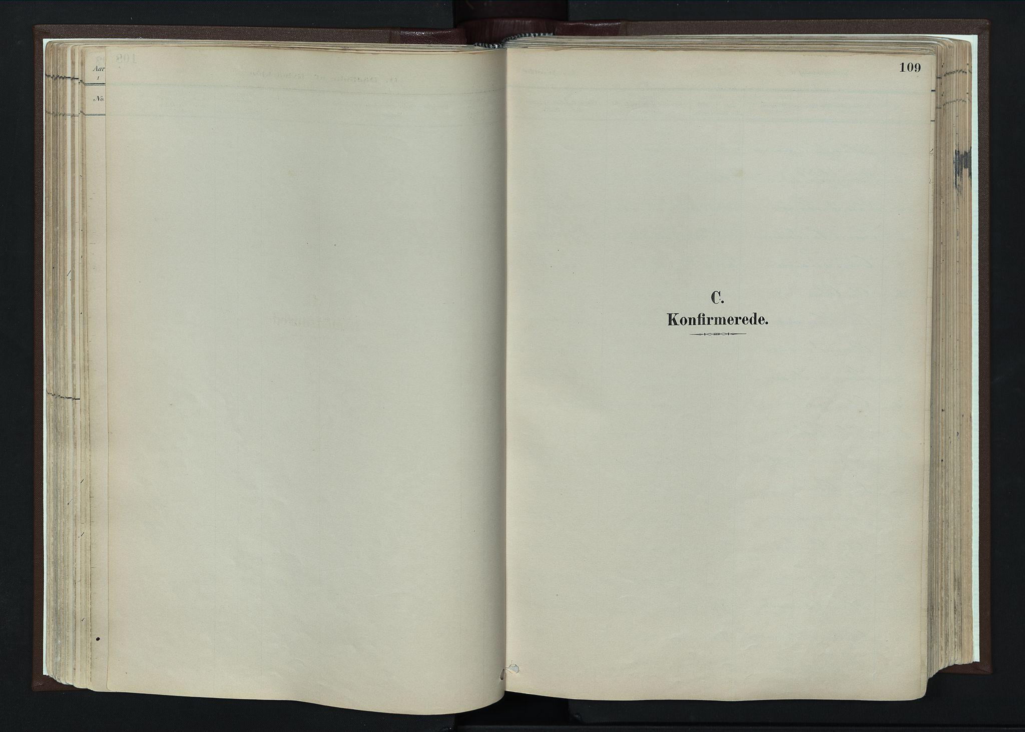 SAH, Nord-Fron prestekontor, Parish register (official) no. 4, 1884-1914, p. 109
