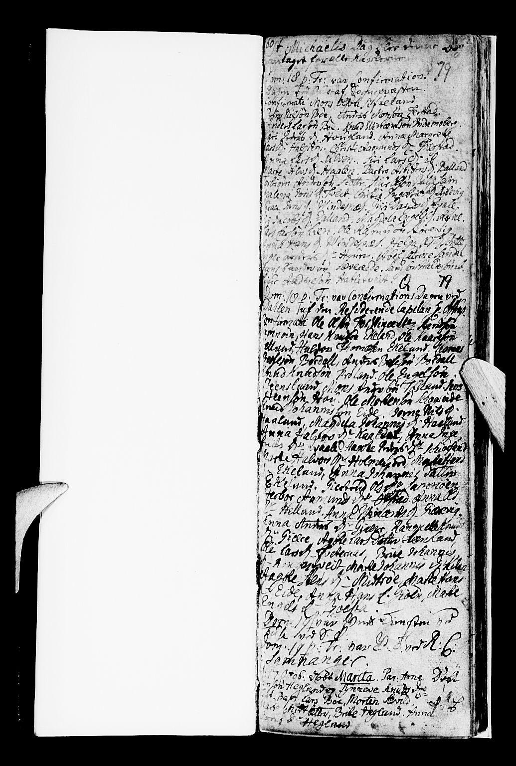 SAB, Os sokneprestembete*, Parish register (official) no. A 8, 1760-1765, p. 79