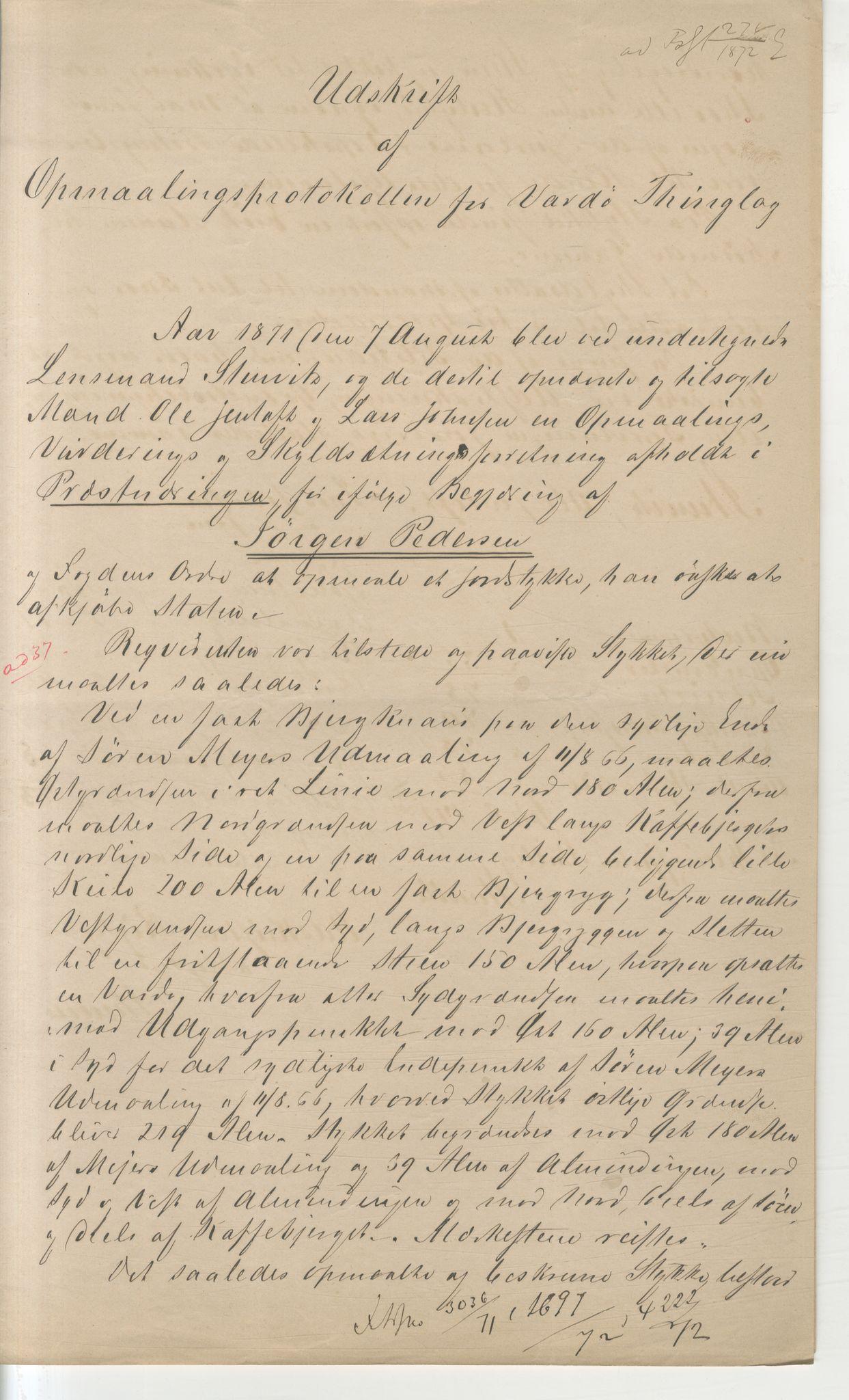 VAMU, Brodtkorb handel A/S, Q/Qb/L0003: Faste eiendommer i Vardø Herred, 1862-1939, p. 149
