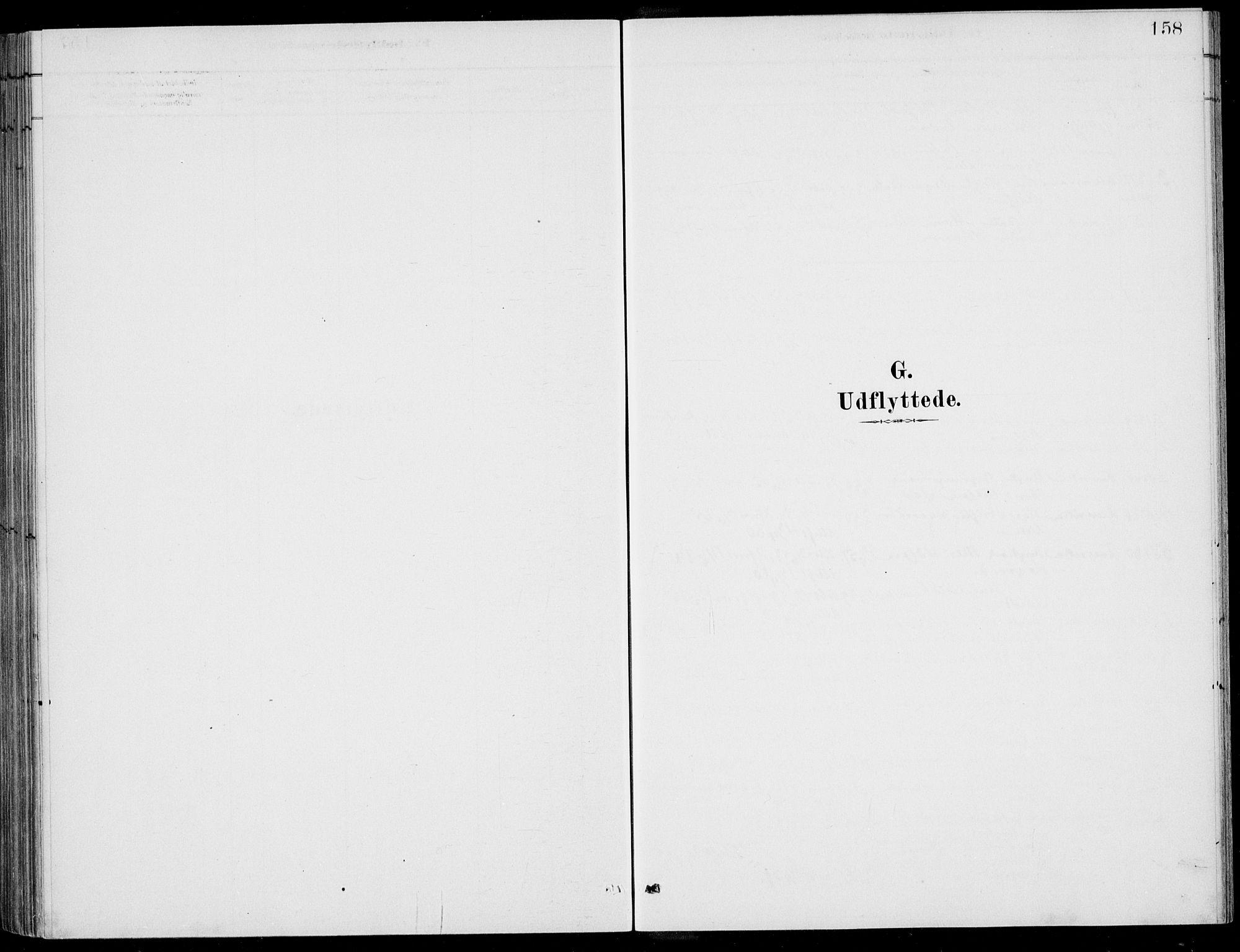 SAB, Ulvik sokneprestembete, H/Haa: Parish register (official) no. D  1, 1878-1903, p. 158