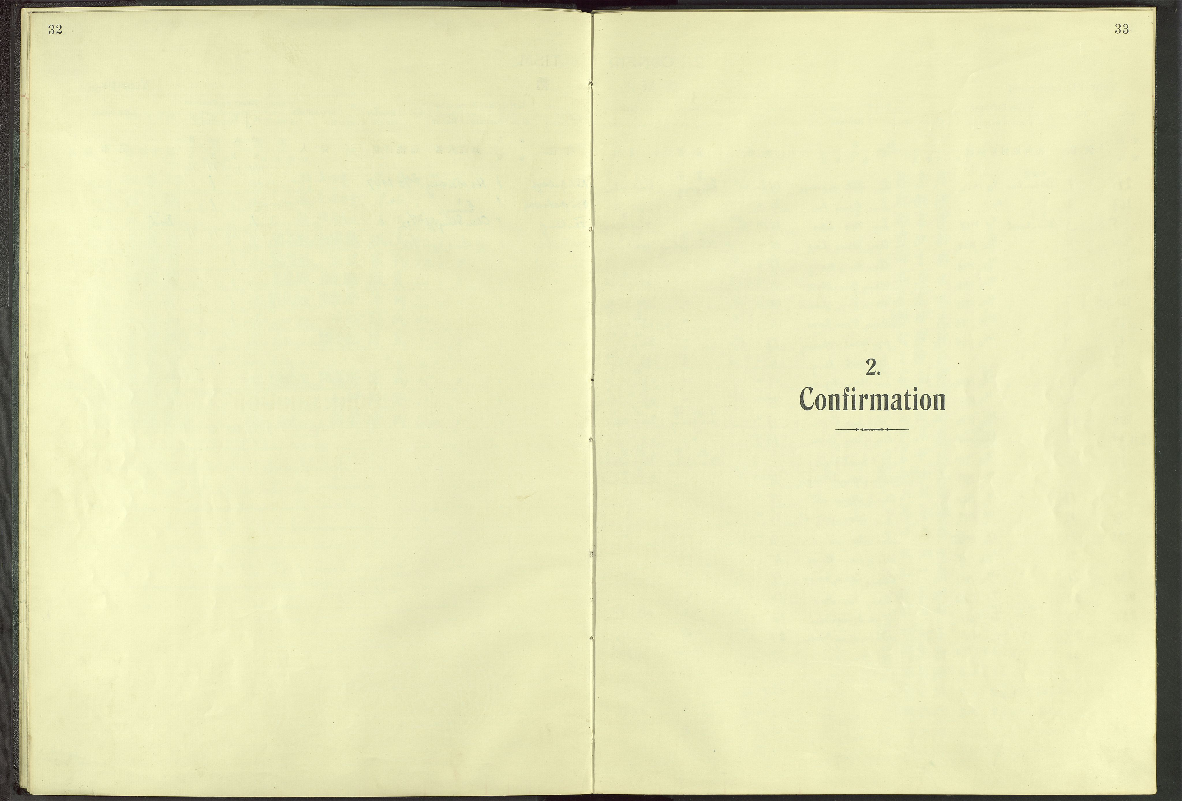 VID, Det Norske Misjonsselskap - utland - Kina (Hunan), Dm/L0006: Parish register (official) no. 51, 1912-1948, p. 32-33