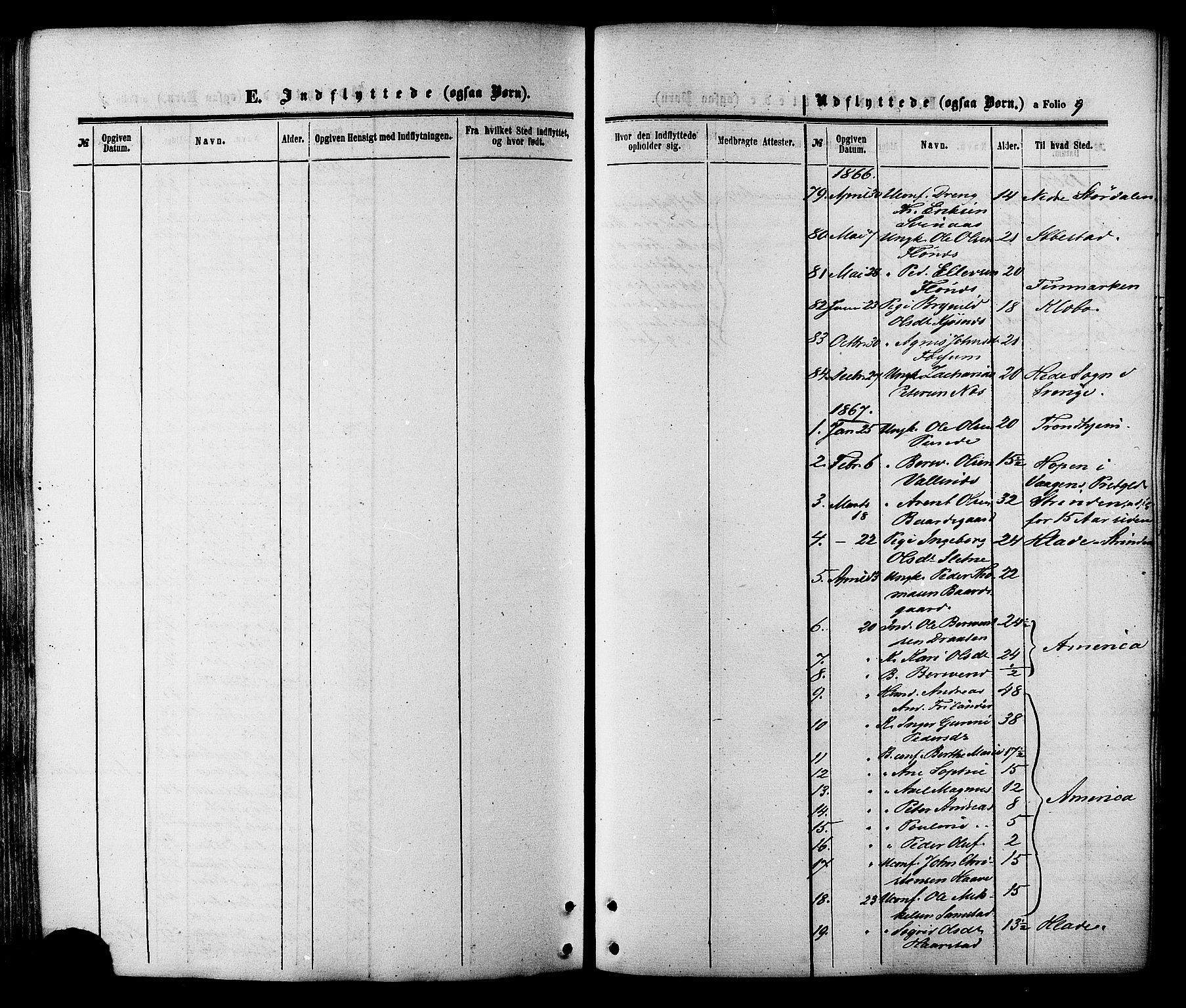 SAT, Ministerialprotokoller, klokkerbøker og fødselsregistre - Sør-Trøndelag, 695/L1147: Parish register (official) no. 695A07, 1860-1877, p. 9