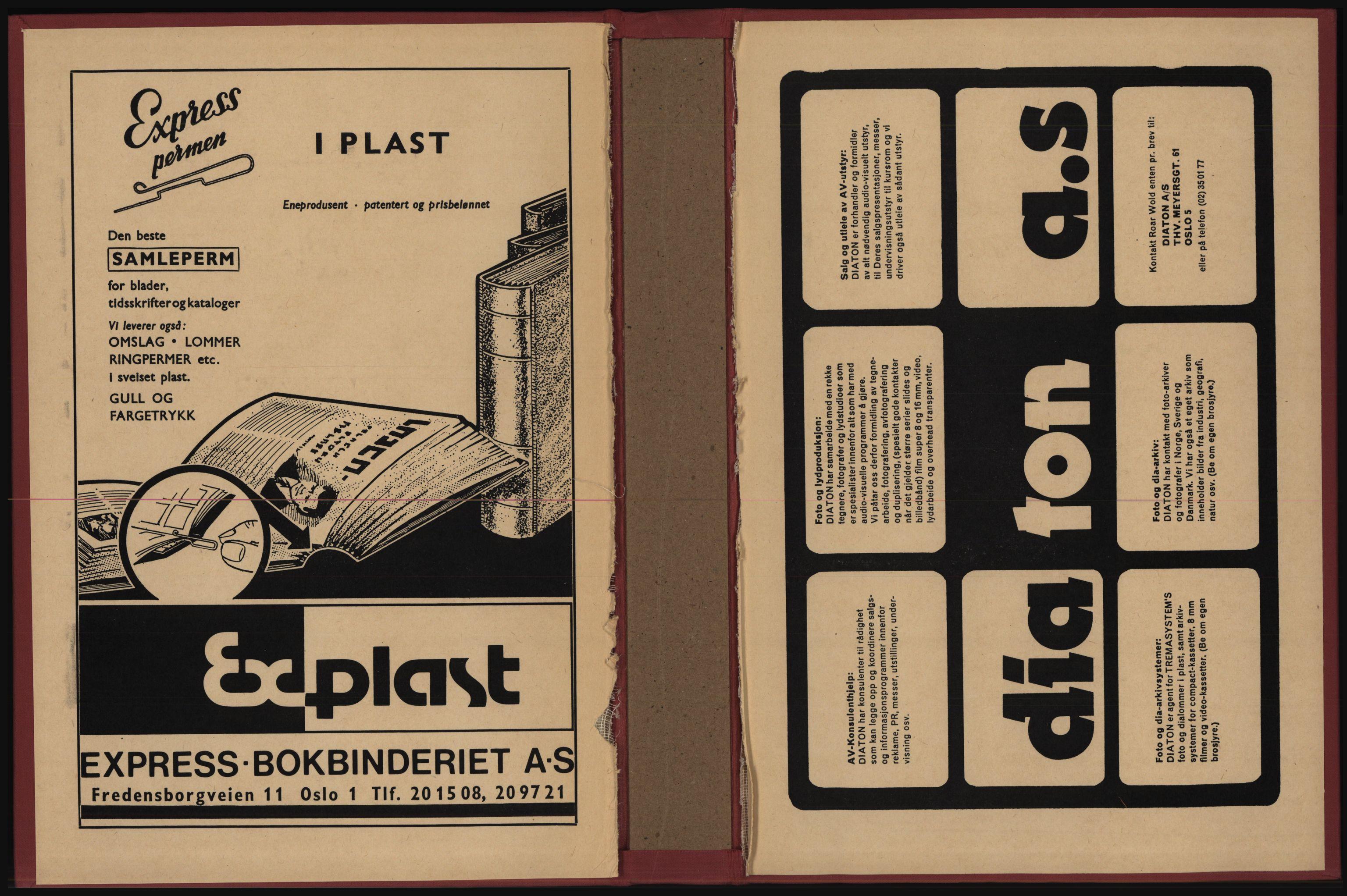 PUBL, Kristiania/Oslo adressebok, 1977-1978