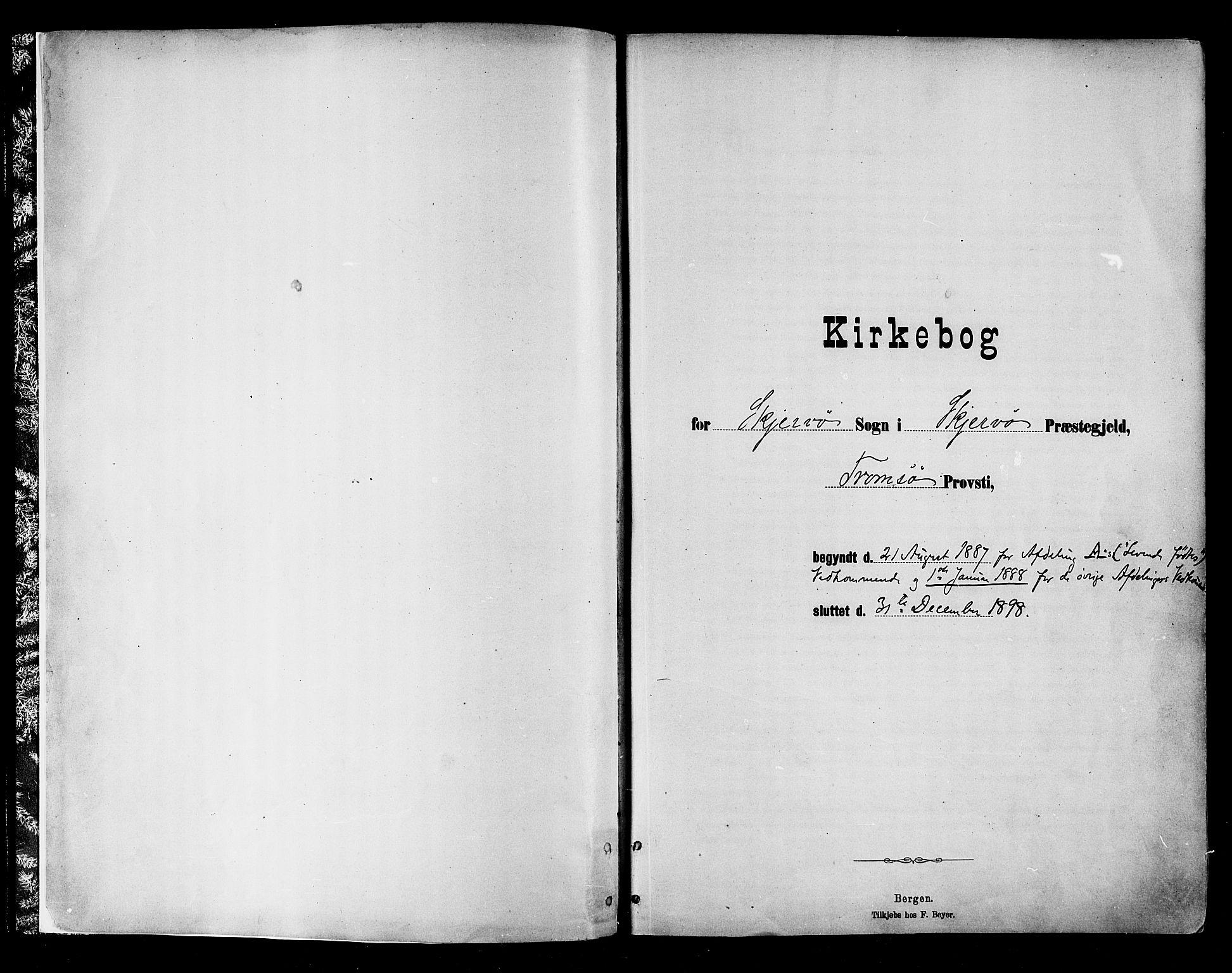 SATØ, Skjervøy sokneprestkontor, H/Ha/Haa/L0010kirke: Parish register (official) no. 10, 1887-1898