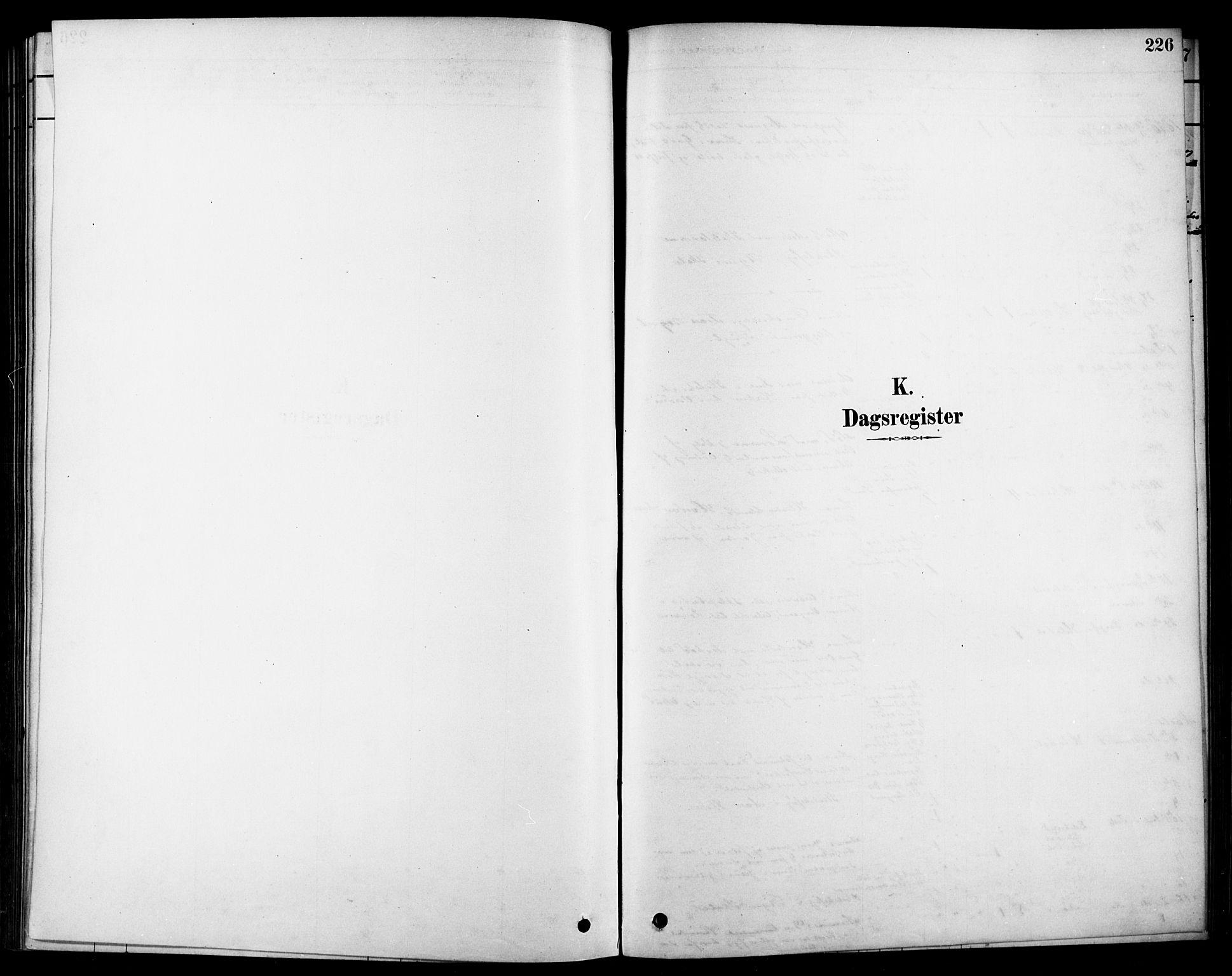 SAKO, Heddal kirkebøker, F/Fa/L0009: Parish register (official) no. I 9, 1878-1903, p. 226