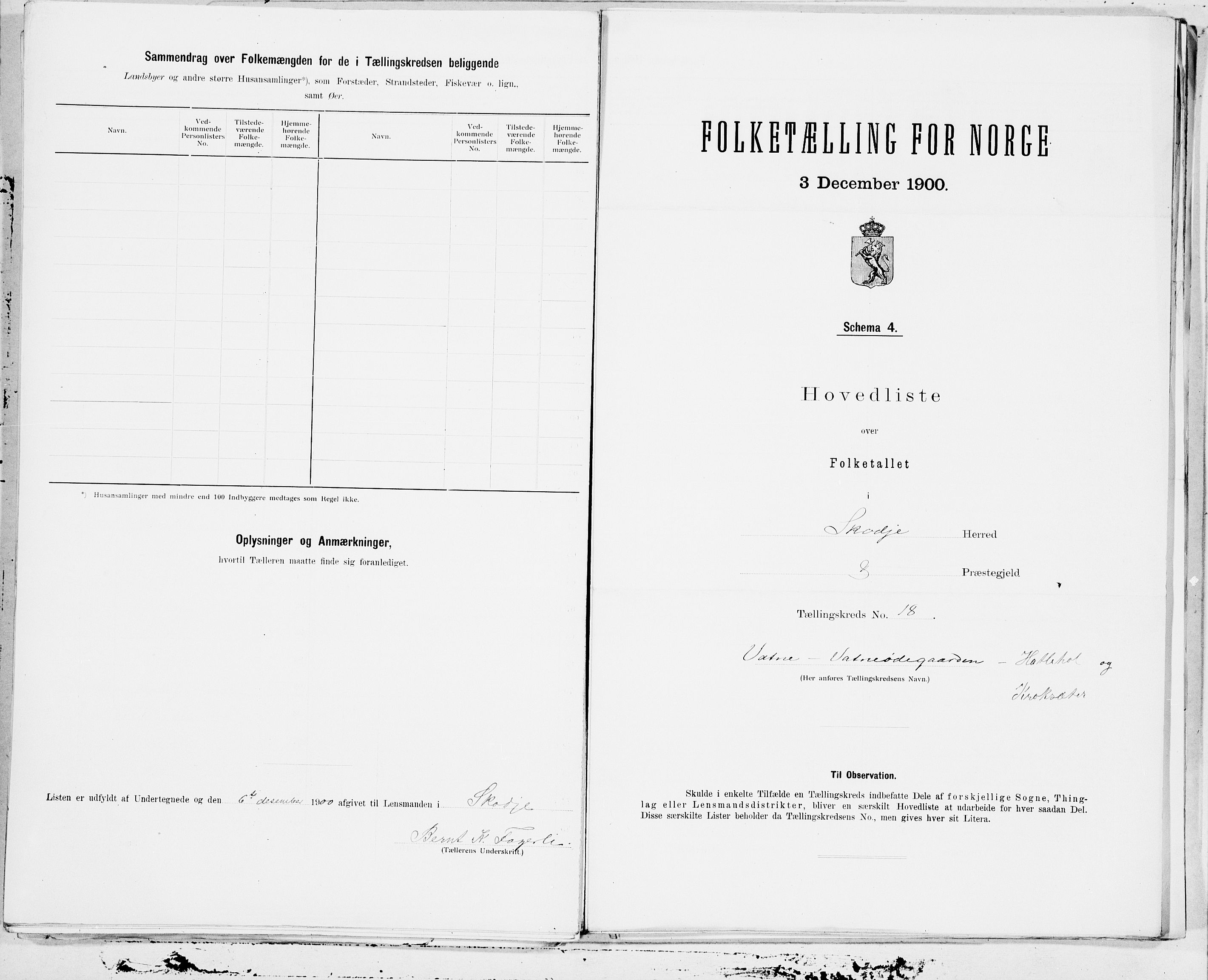 SAT, 1900 census for Skodje, 1900, p. 36