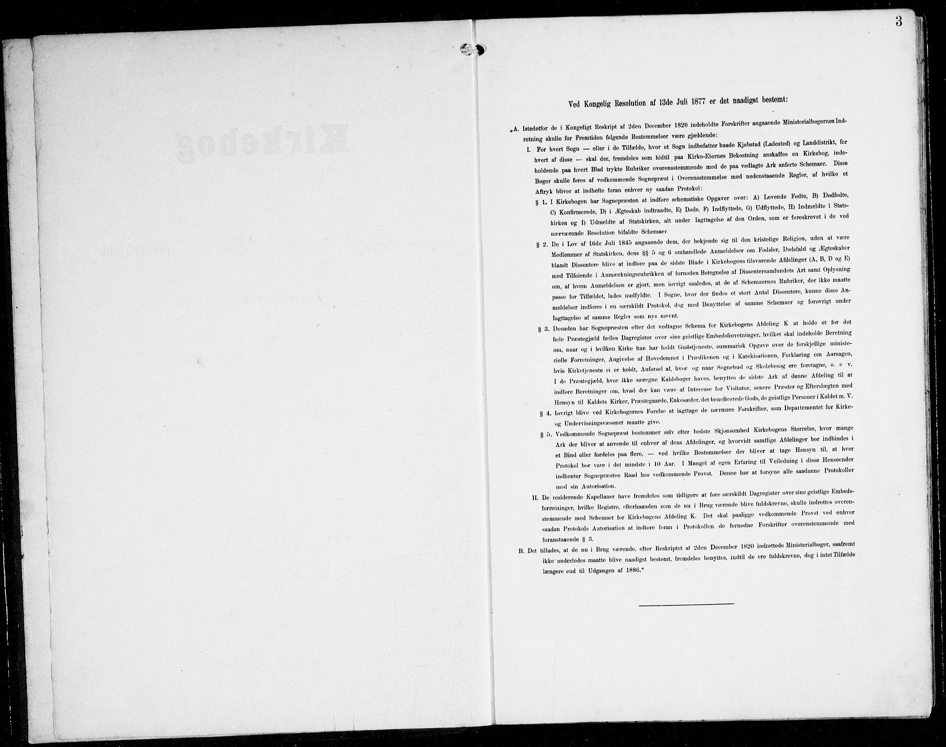 SAB, Herdla Sokneprestembete, H/Hab: Parish register (copy) no. C 1, 1900-1913, p. 3
