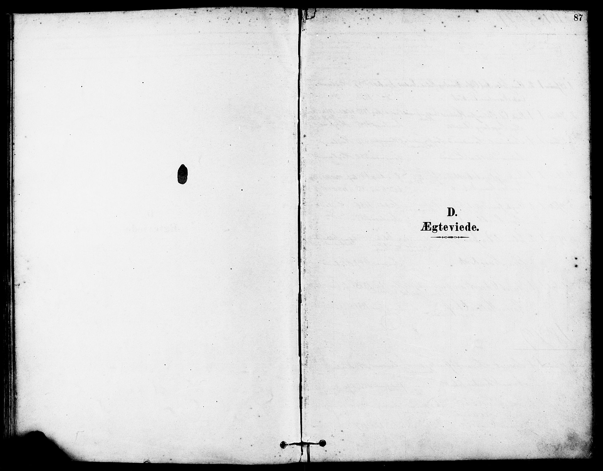 SAST, Høyland sokneprestkontor, 30BA/L0012: Parish register (official) no. A 11, 1878-1889, p. 87