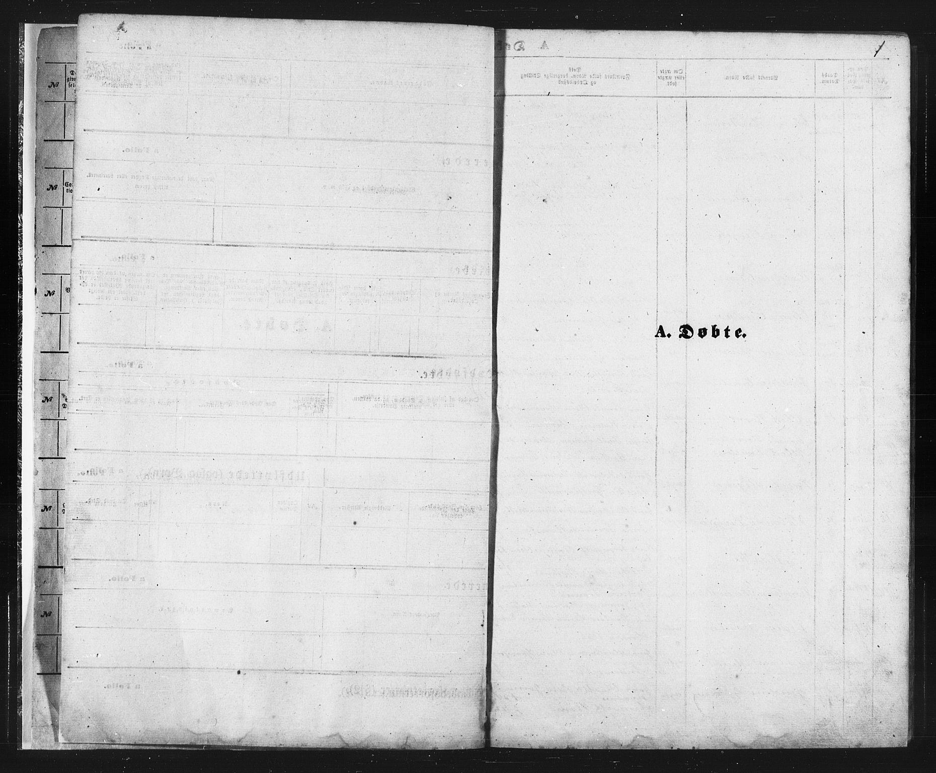 SATØ, Balsfjord sokneprestembete, Parish register (copy) no. 2, 1870-1886, p. 1