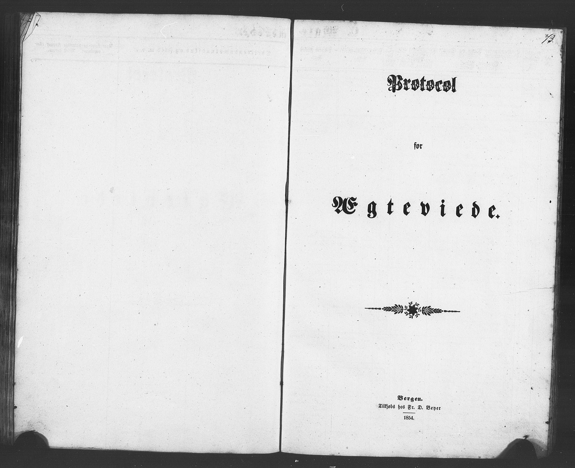 SAB, Evanger sokneprestembete*, Parish register (copy) no. A 1, 1855-1864, p. 73