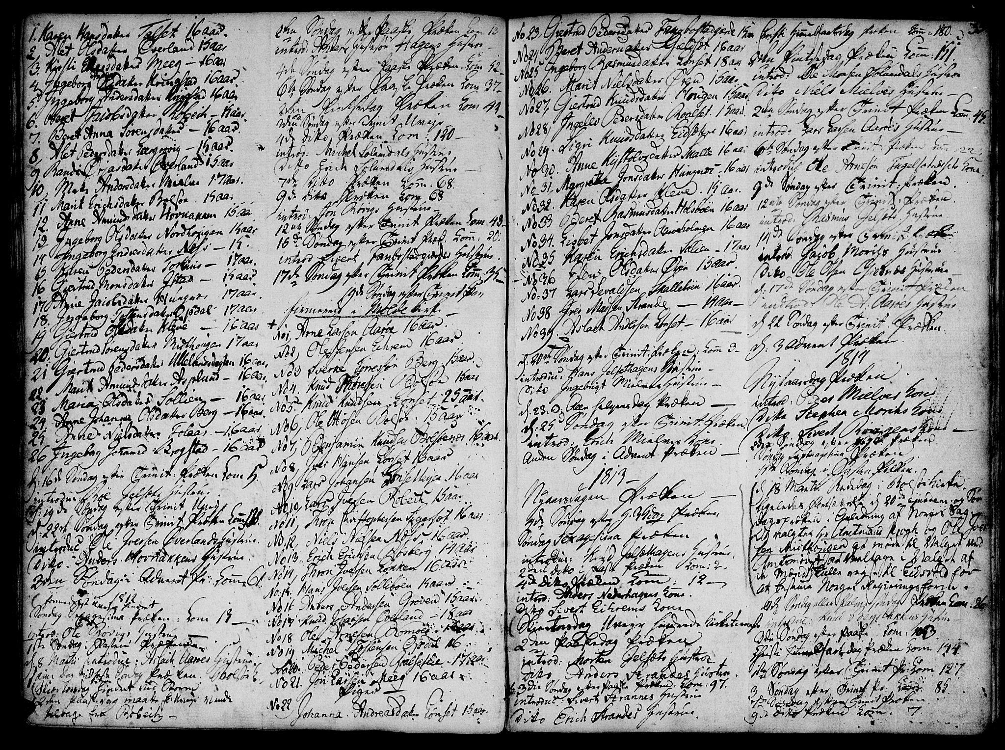 SAT, Ministerialprotokoller, klokkerbøker og fødselsregistre - Møre og Romsdal, 555/L0649: Parish register (official) no. 555A02 /1, 1795-1821, p. 35