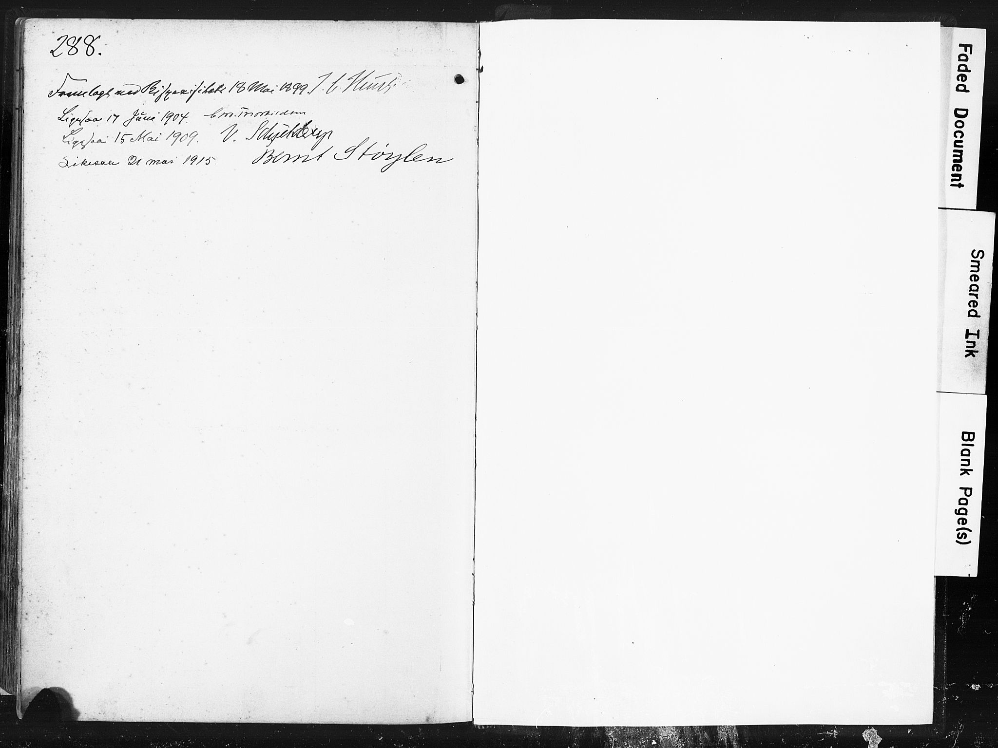 SAST, Høyland sokneprestkontor, 30BA/L0016: Parish register (official) no. A 16, 1899-1911