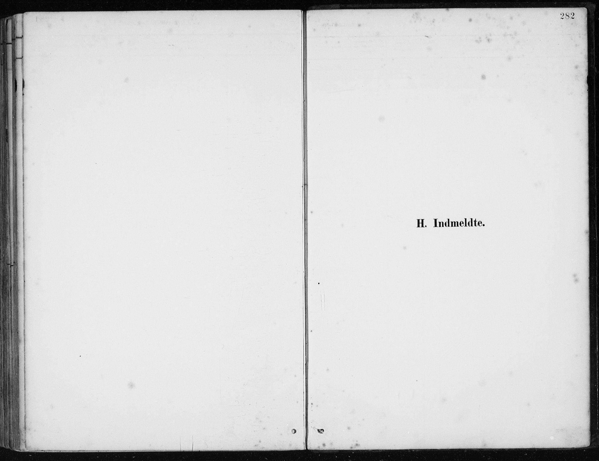 SAB, Os sokneprestembete*, Parish register (official) no. B 1, 1885-1902, p. 282