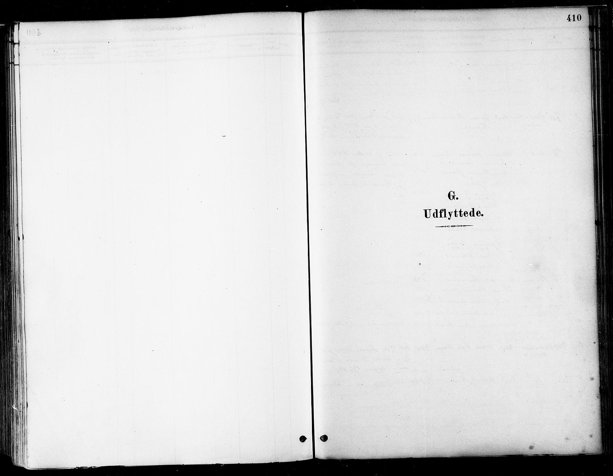 SAT, Ministerialprotokoller, klokkerbøker og fødselsregistre - Nordland, 802/L0054: Parish register (official) no. 802A01, 1879-1893, p. 410