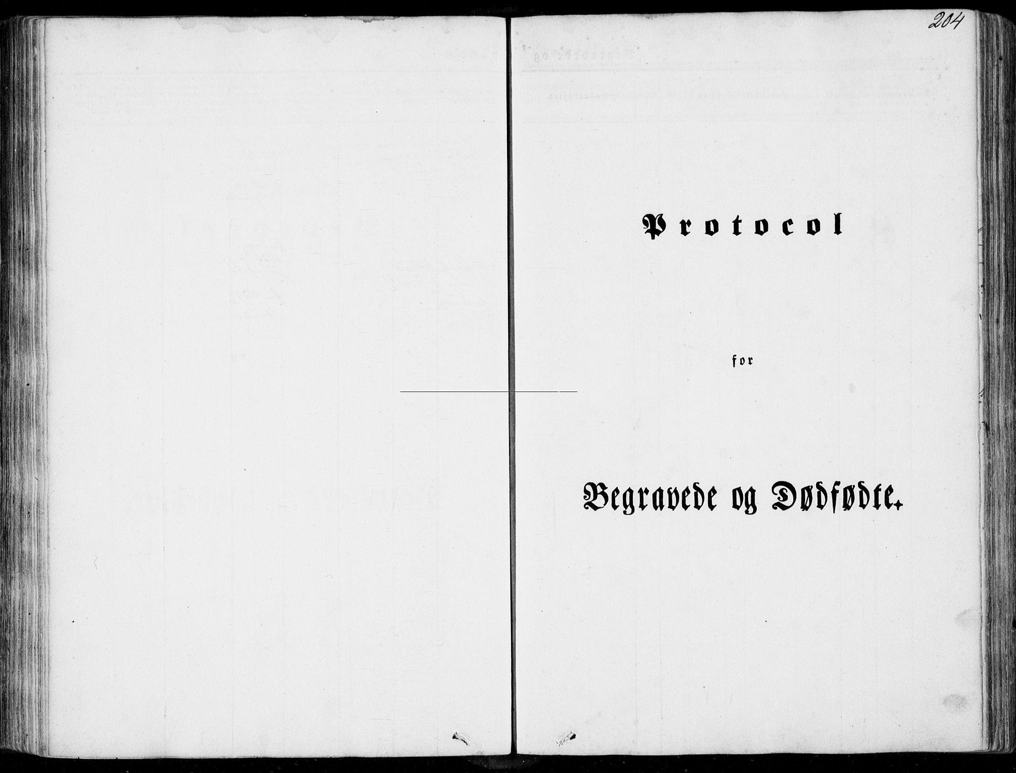 SAT, Ministerialprotokoller, klokkerbøker og fødselsregistre - Møre og Romsdal, 536/L0497: Parish register (official) no. 536A06, 1845-1865, p. 204
