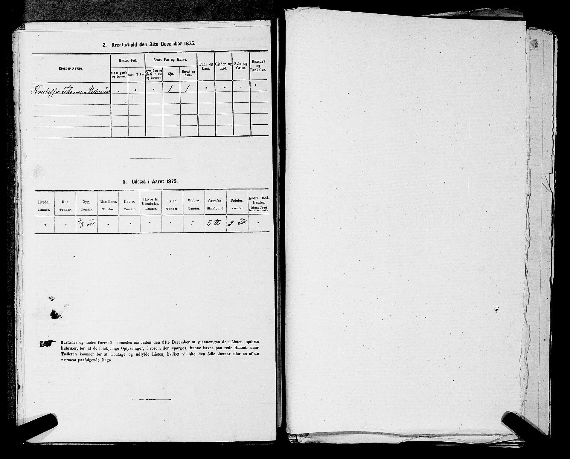 RA, 1875 census for 0227P Fet, 1875, p. 1442