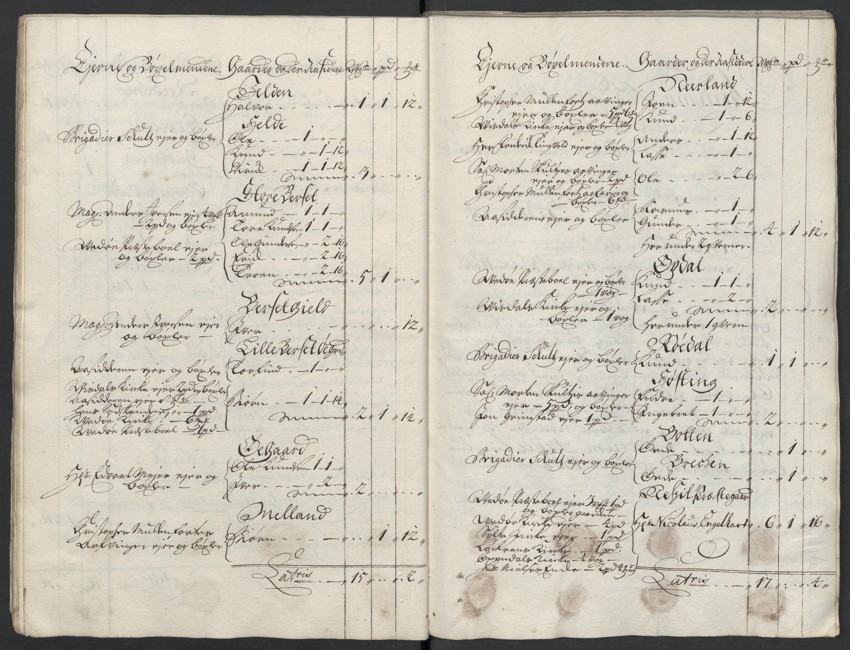 RA, Rentekammeret inntil 1814, Reviderte regnskaper, Fogderegnskap, R55/L3658: Fogderegnskap Romsdal, 1707-1708, p. 31