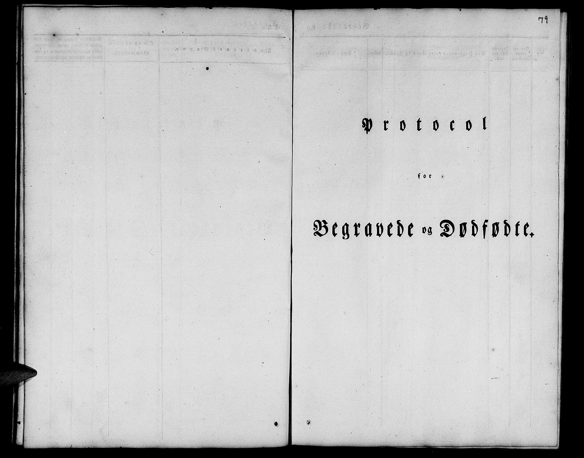 SATØ, Tranøy sokneprestkontor, I/Ia/Iab/L0010klokker: Parish register (copy) no. 10, 1835-1844, p. 79