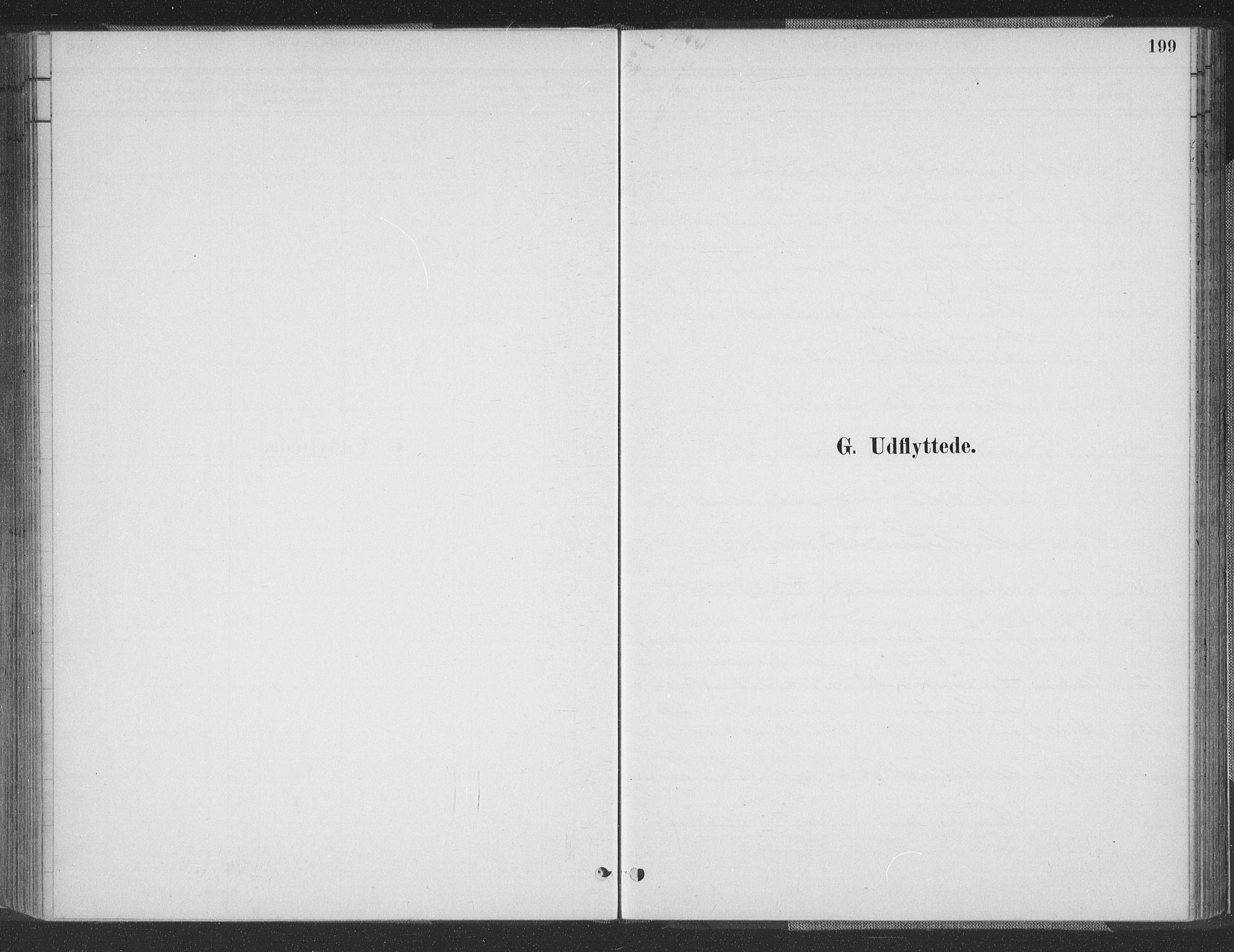 SAK, Grimstad sokneprestkontor, F/Fa/L0004: Parish register (official) no. A 3, 1882-1910, p. 199