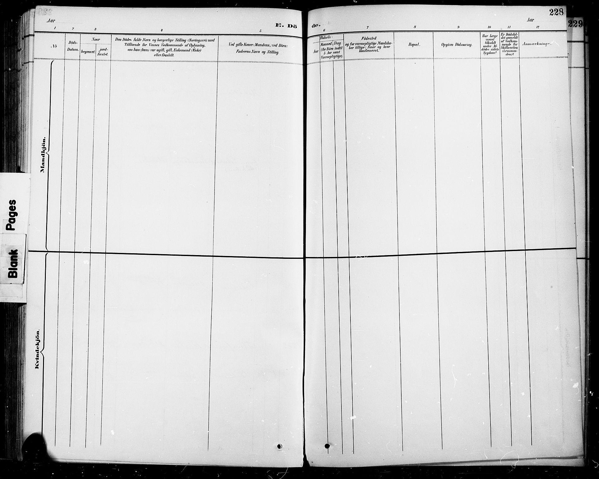 SAH, Sel prestekontor, Parish register (copy) no. 5, 1894-1923, p. 228