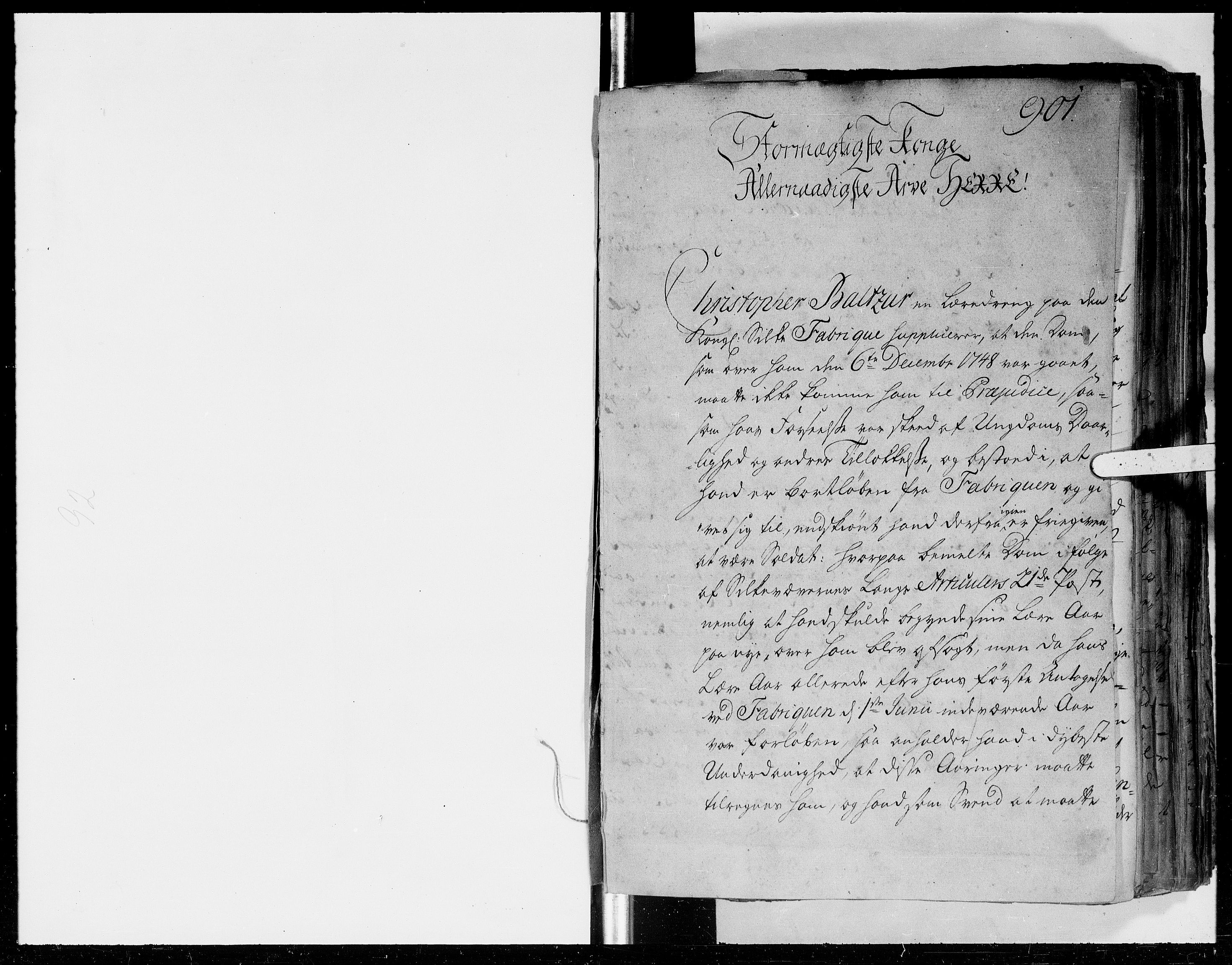 DRA, Kommercekollegiet, Dansk-Norske Sekretariat (1736-1771) / Kommercedeputationen (1771-1773), -/008: Forestillinger, 1750-1753