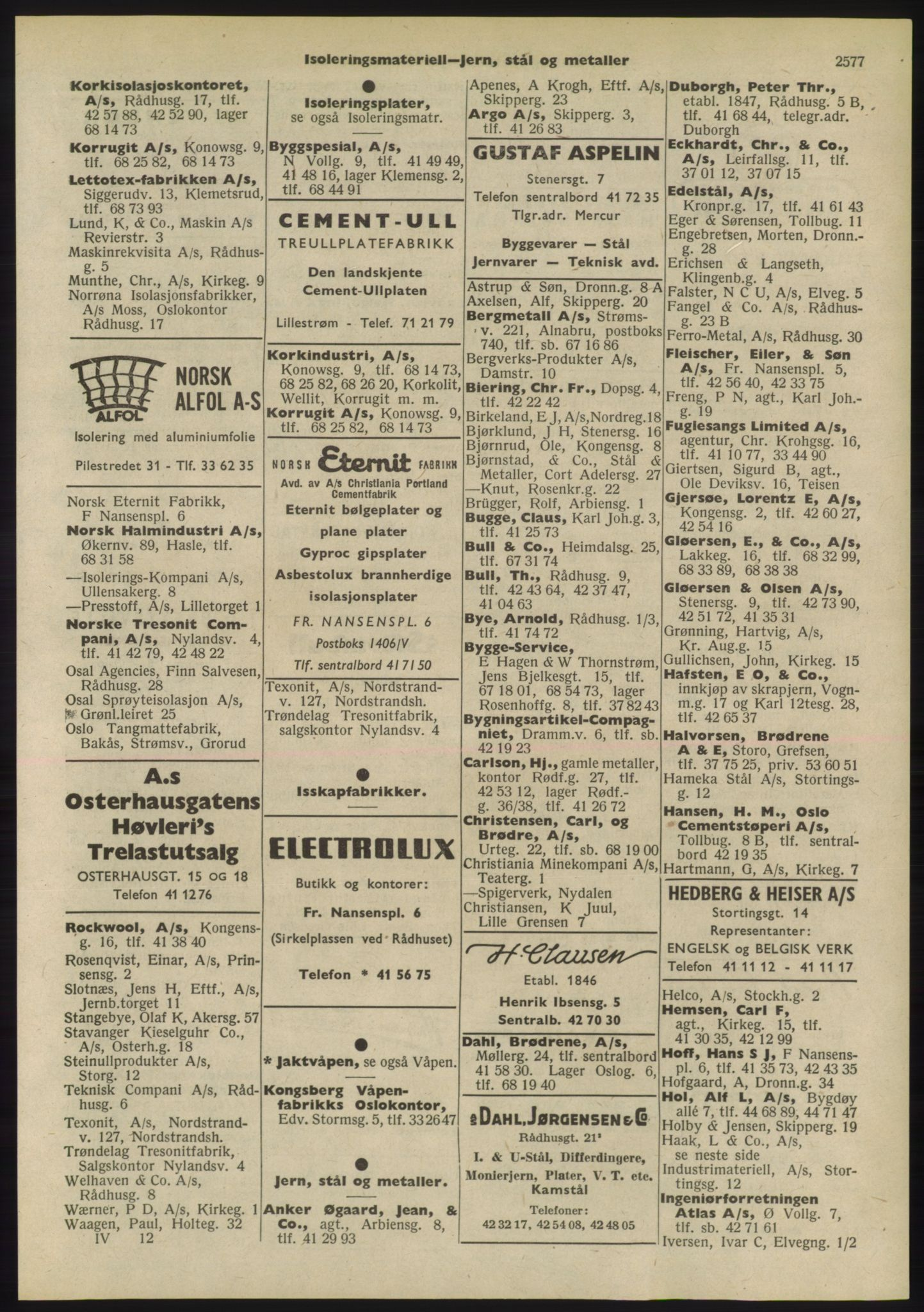 PUBL, Kristiania/Oslo adressebok, 1955, p. 2577