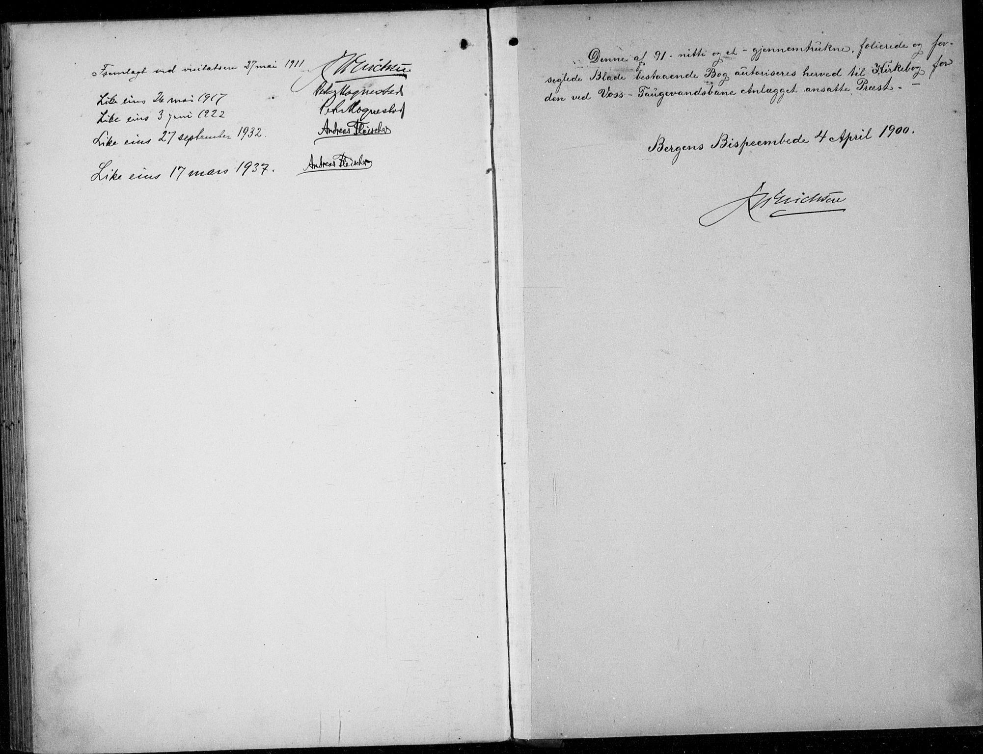 SAB, Parish register (official) no. A  1, 1900-1939