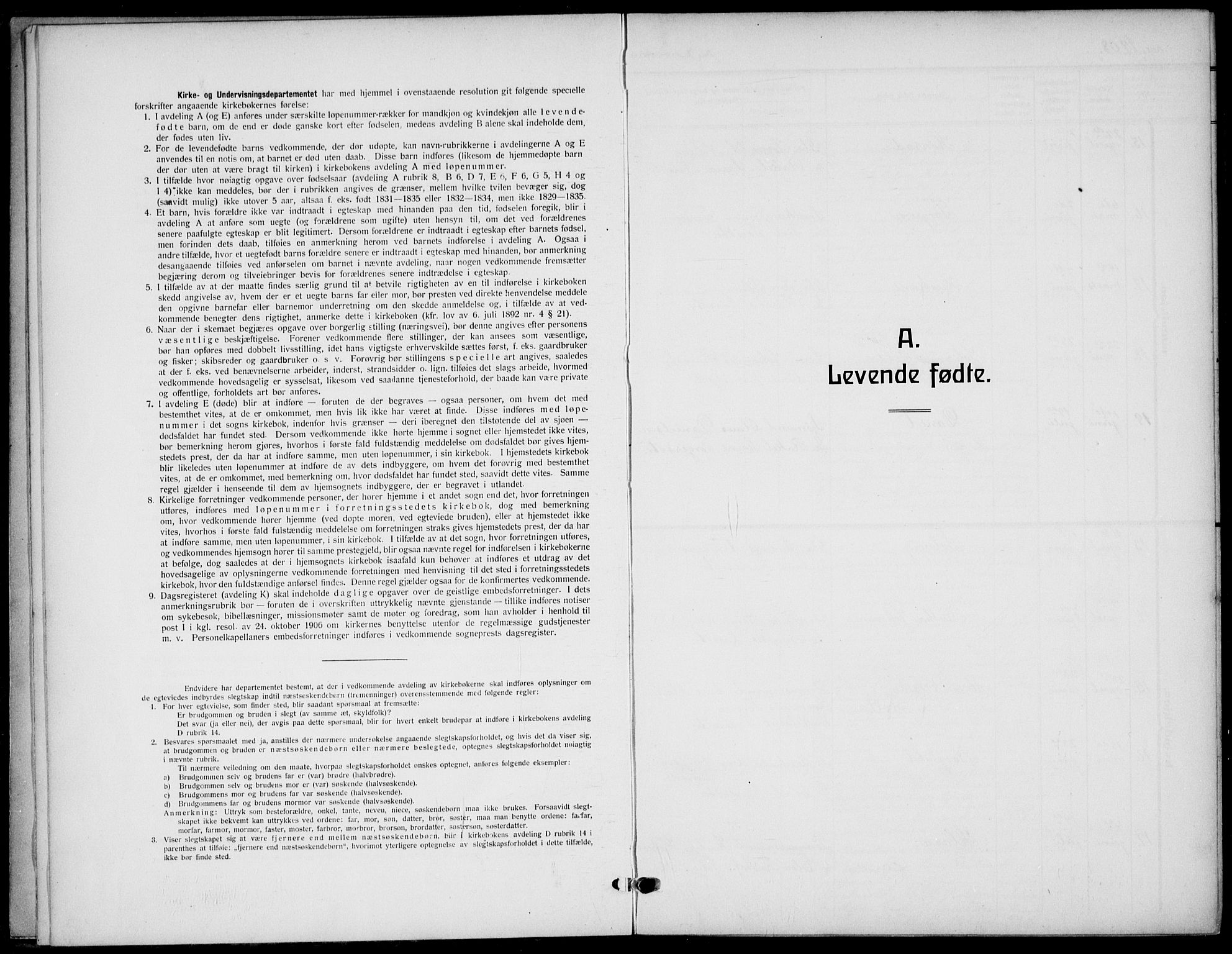 SAST, Strand sokneprestkontor, H/Ha/Haa/L0011: Parish register (official) no. A 11, 1908-1930
