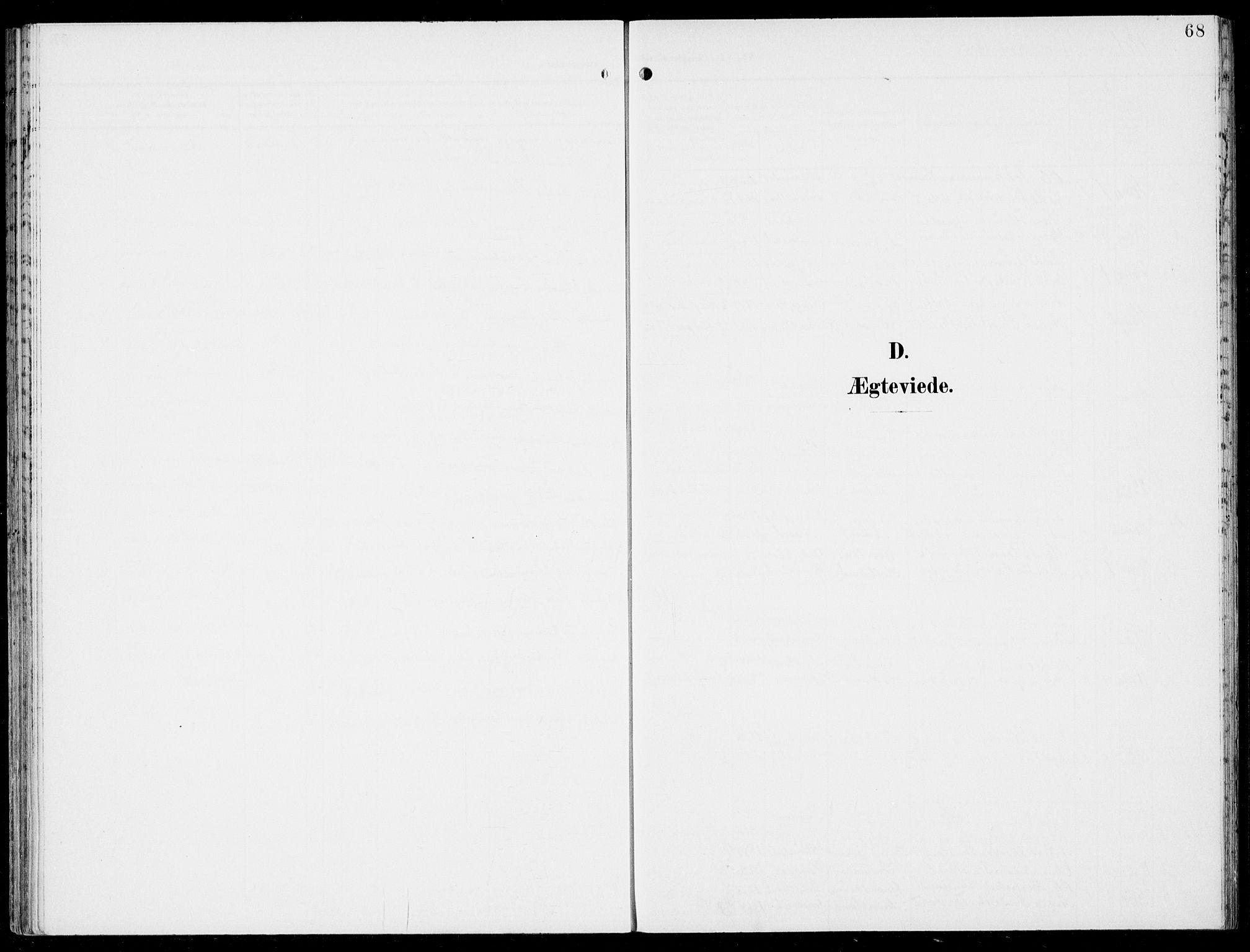 SAB, Hosanger sokneprestembete, H/Haa: Parish register (official) no. C  2, 1901-1925, p. 68