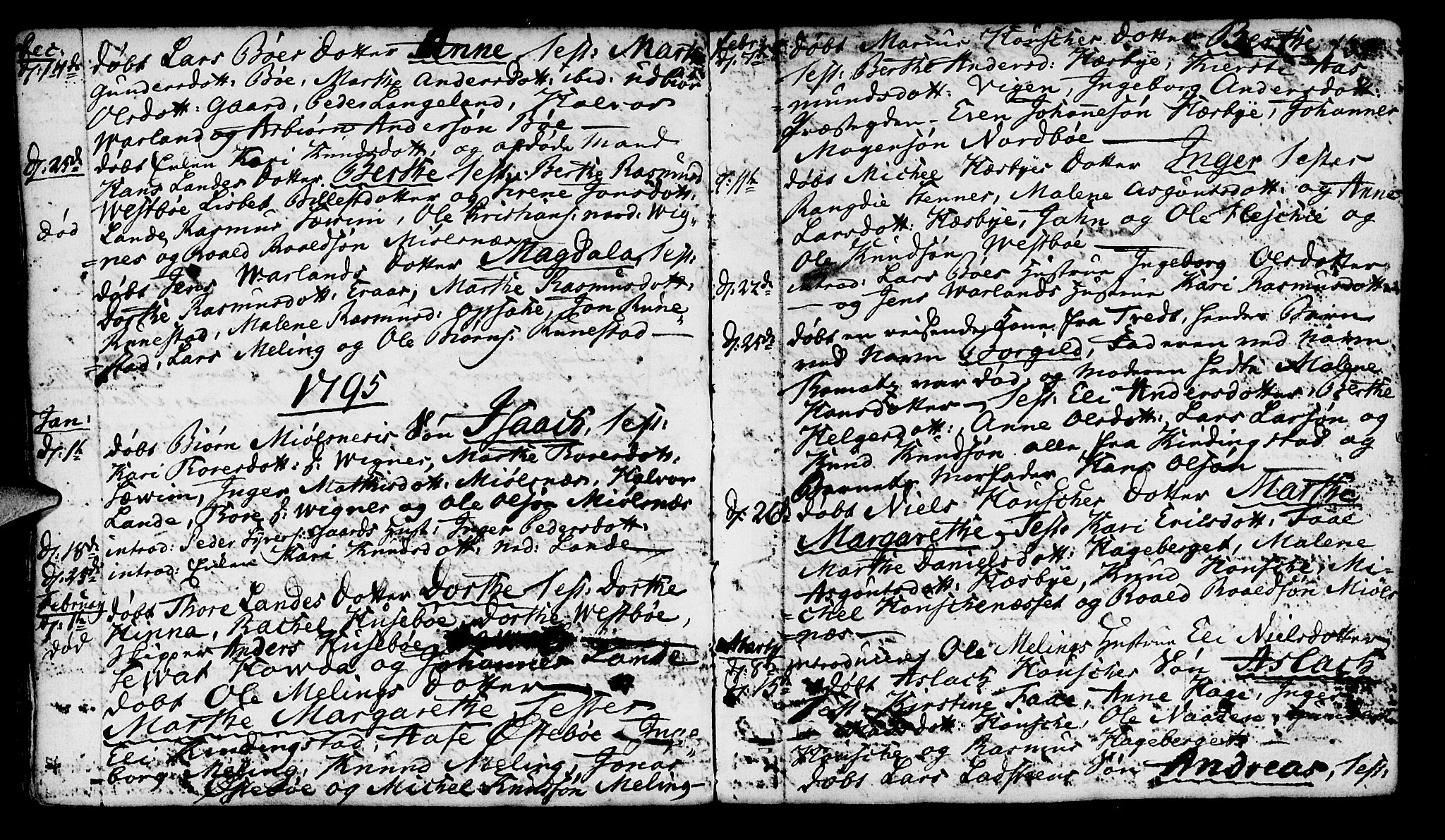 SAST, Finnøy sokneprestkontor, H/Ha/Haa/L0005: Parish register (official) no. A 5, 1773-1816, p. 135
