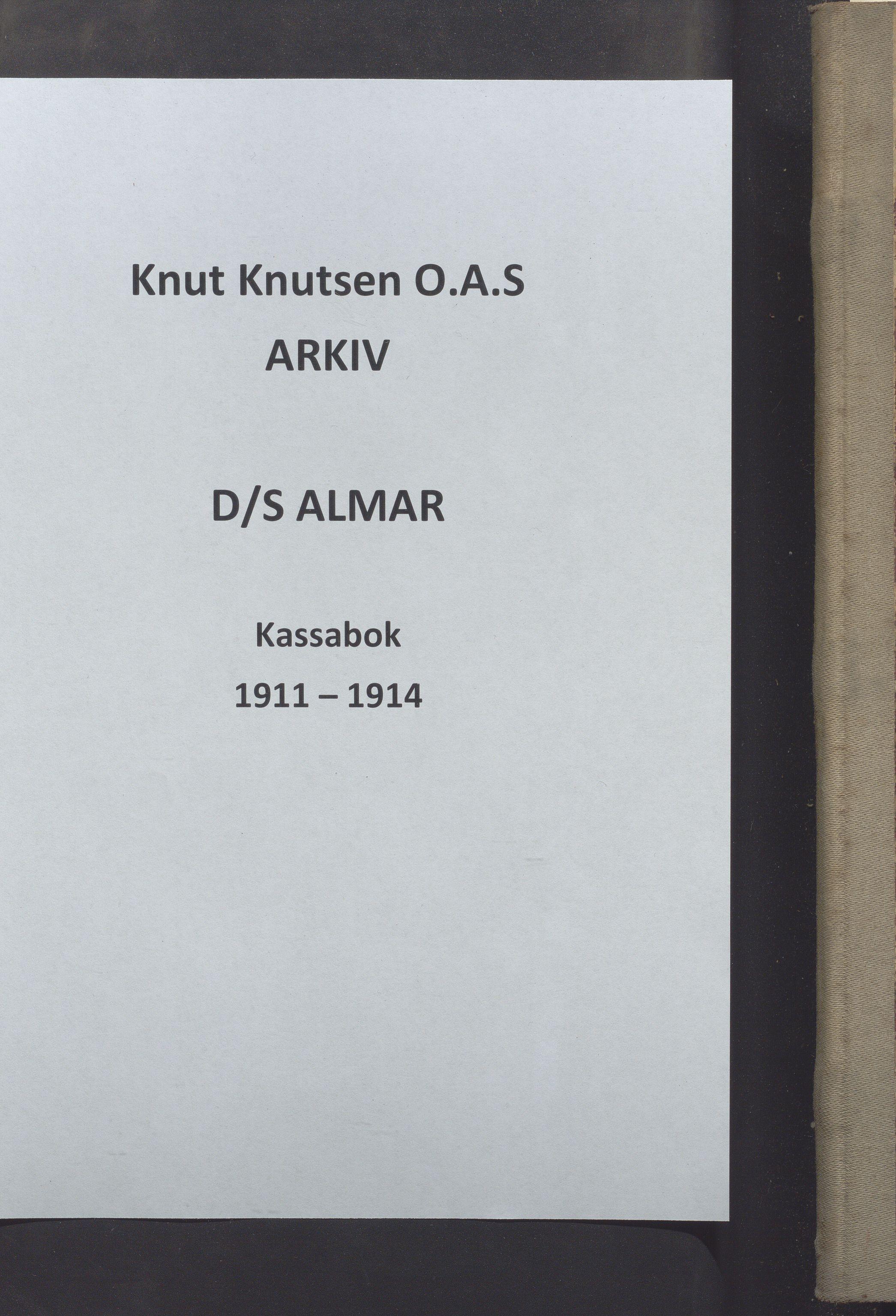 HABI, Knut Knutsen O.A.S., 1911-1914