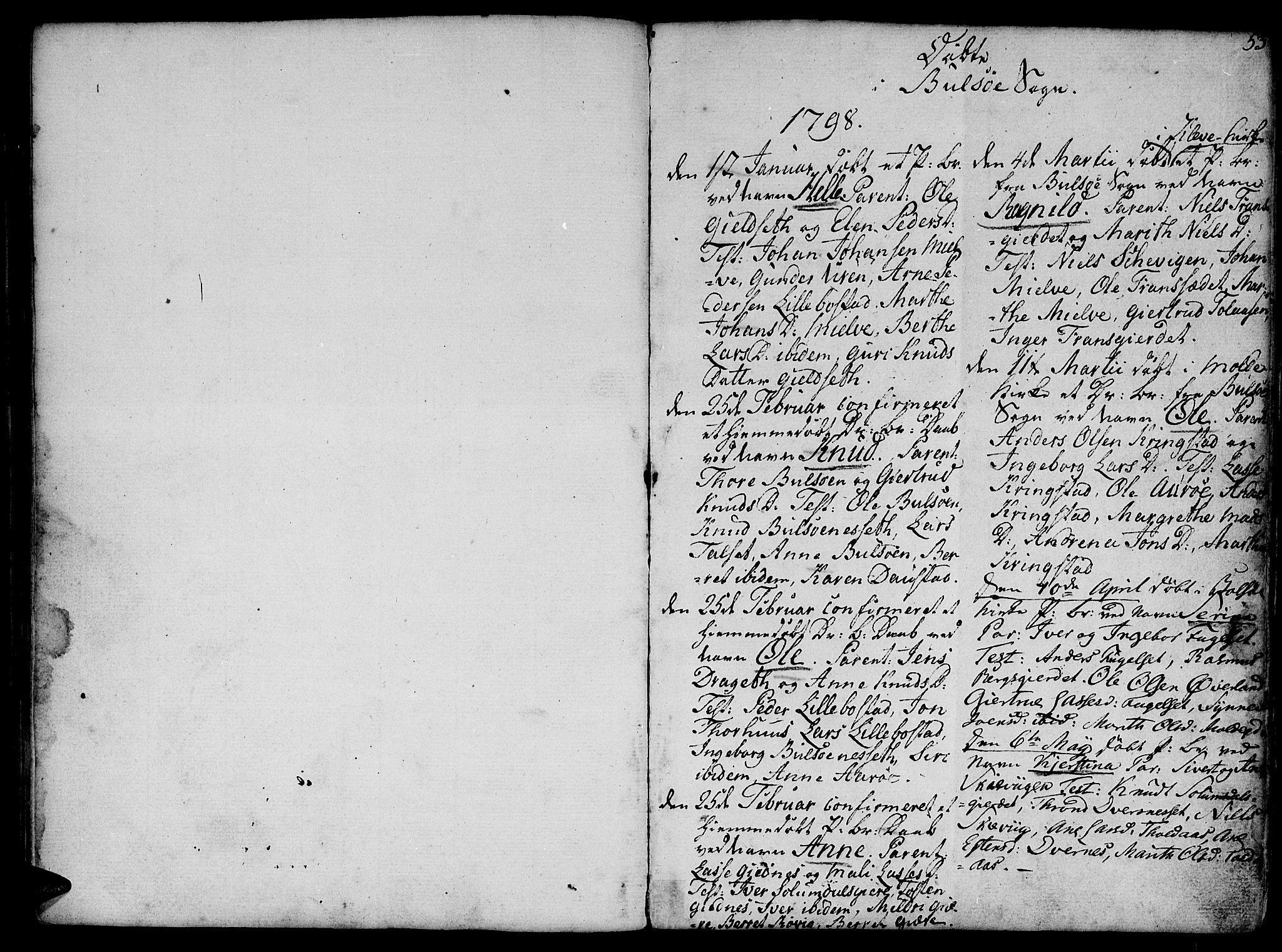 SAT, Ministerialprotokoller, klokkerbøker og fødselsregistre - Møre og Romsdal, 555/L0649: Parish register (official) no. 555A02 /1, 1795-1821, p. 53