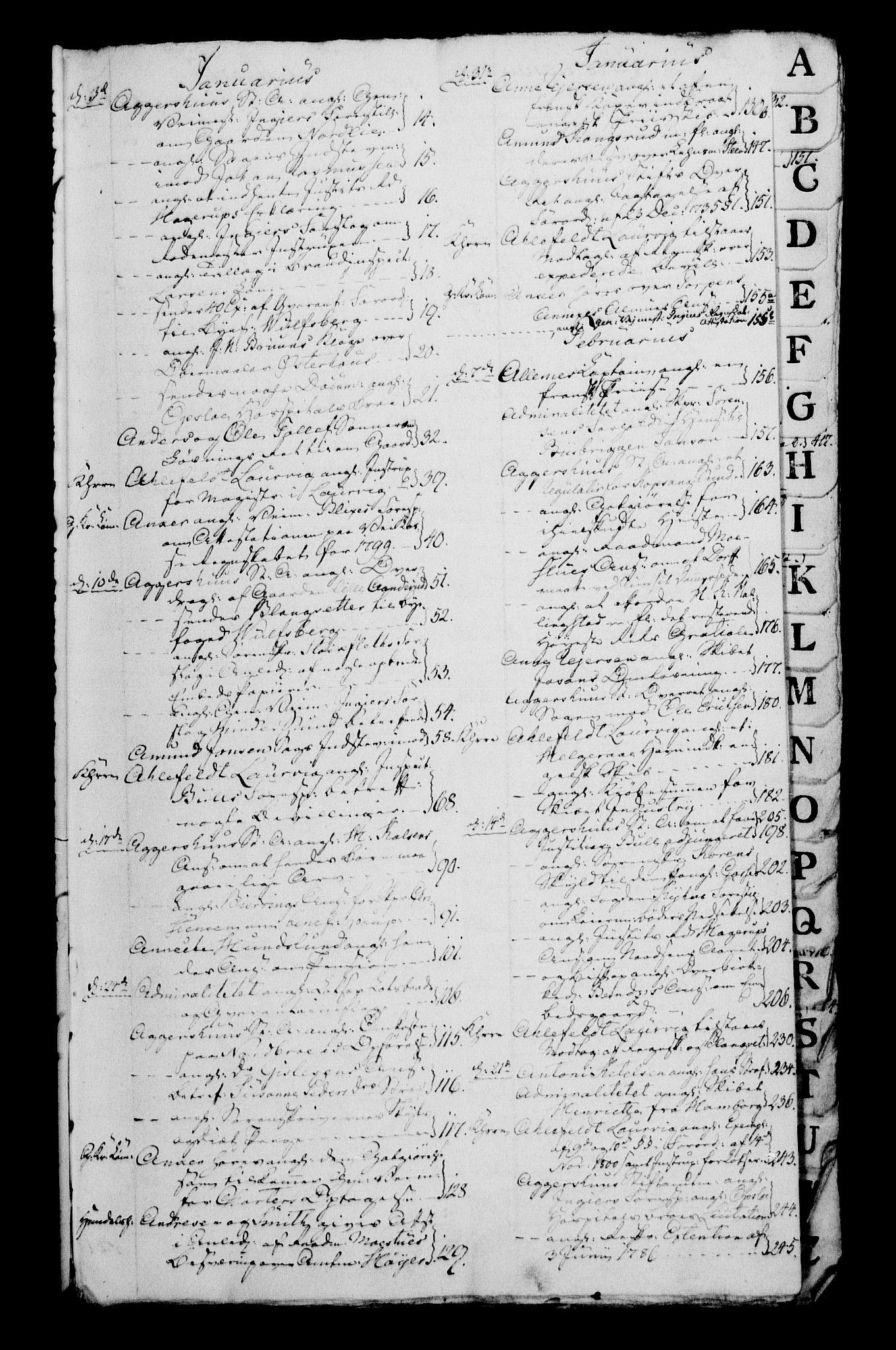 RA, Danske Kanselli 1800-1814, H/Hg/Hga/Hgaa/L0003: Brevbok, 1801