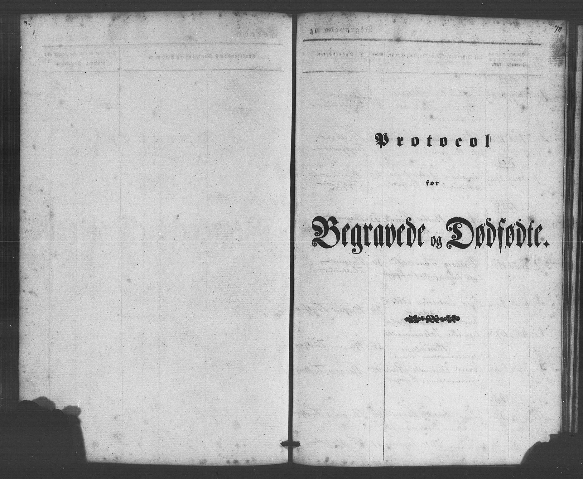 SAB, Bergens strafanstalts sokneprestembete*, Parish register (official) no. A 1, 1841-1884, p. 70