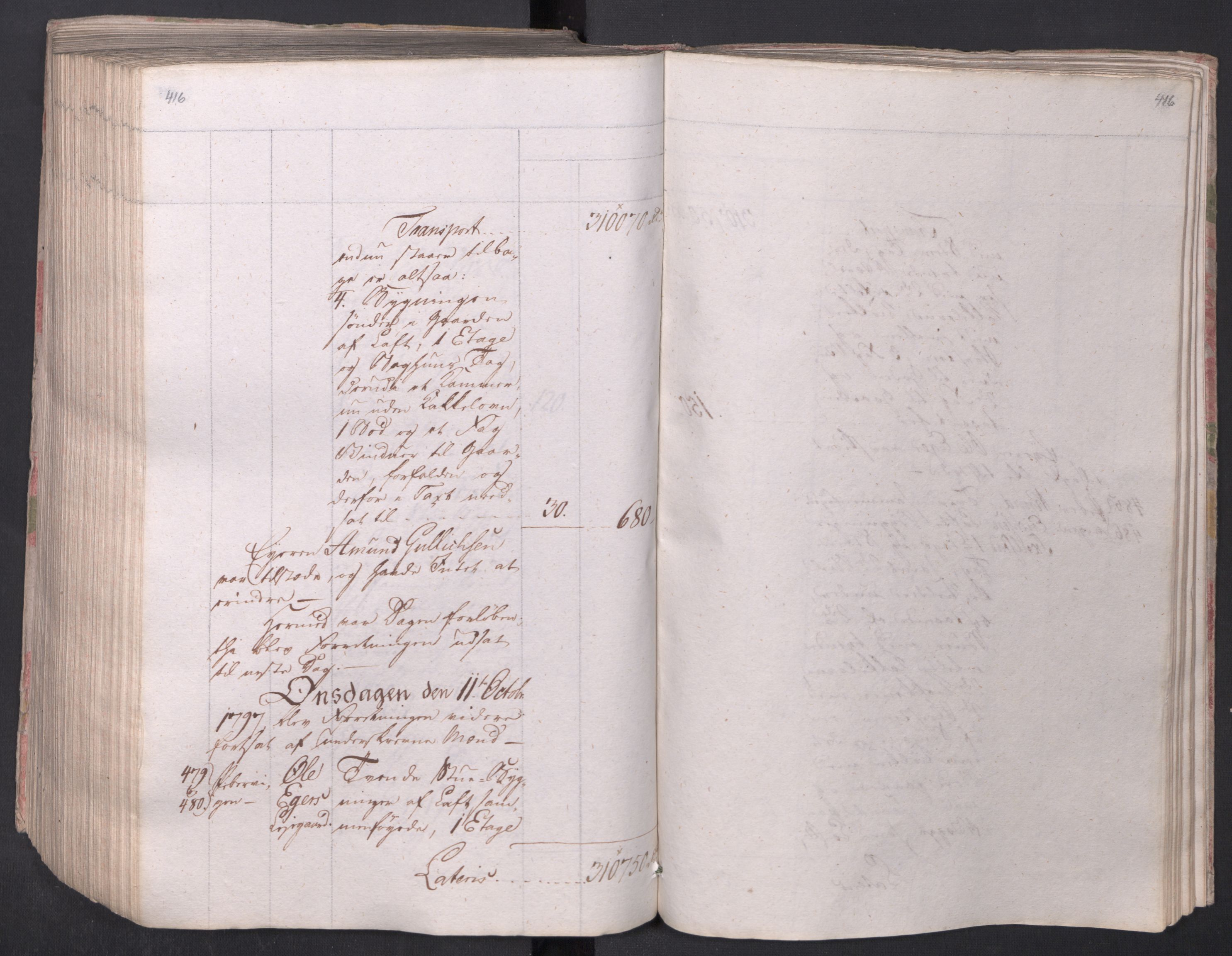 SAO, Kristiania stiftamt, I/Ia/L0015: Branntakster, 1797, p. 416