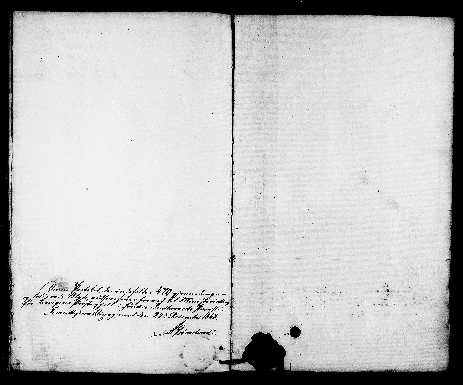 SAT, Ministerialprotokoller, klokkerbøker og fødselsregistre - Nord-Trøndelag, 701/L0009: Parish register (official) no. 701A09 /2, 1864-1882