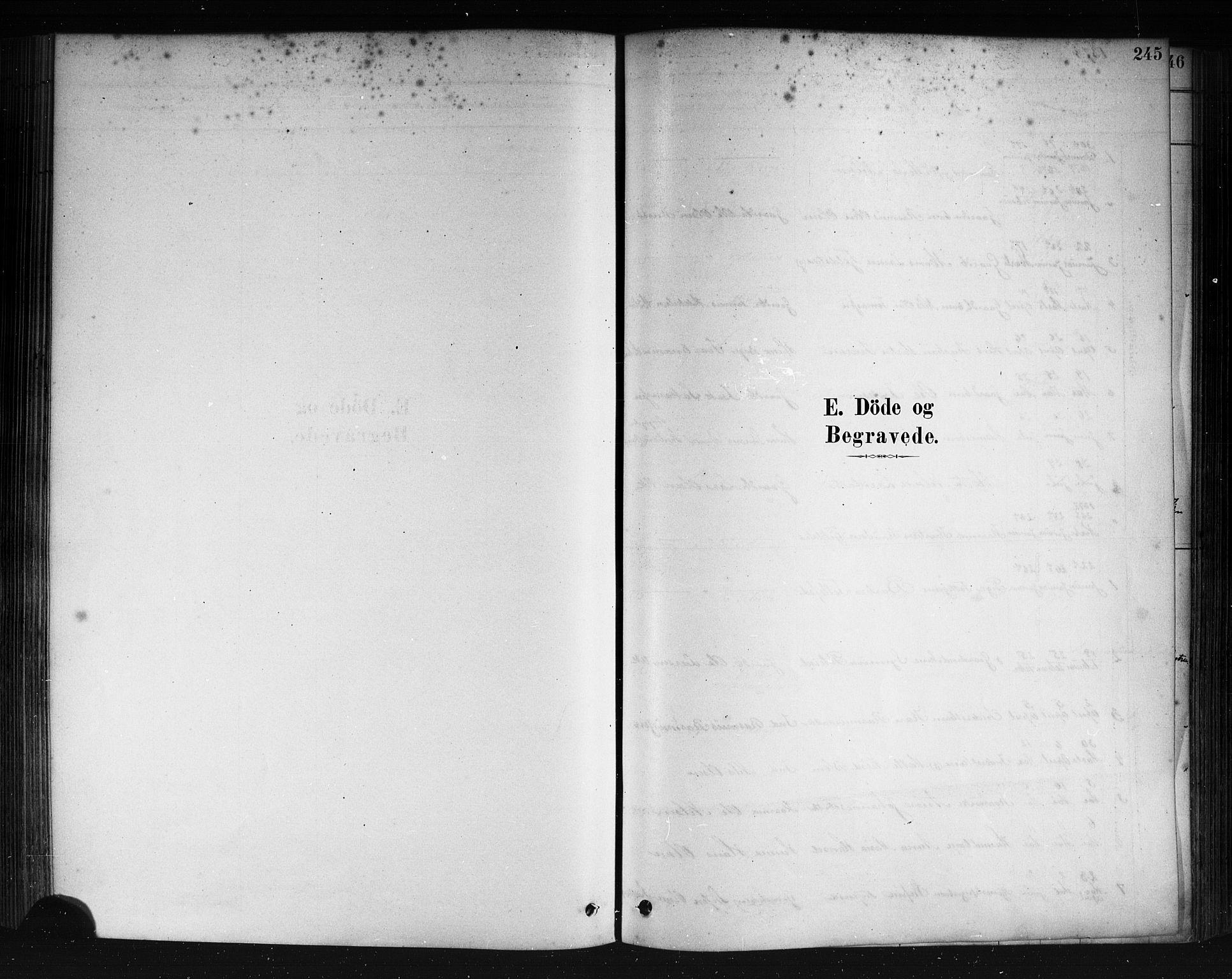 SAB, Herdla Sokneprestembete, H/Haa: Parish register (official) no. A 3, 1878-1890, p. 245