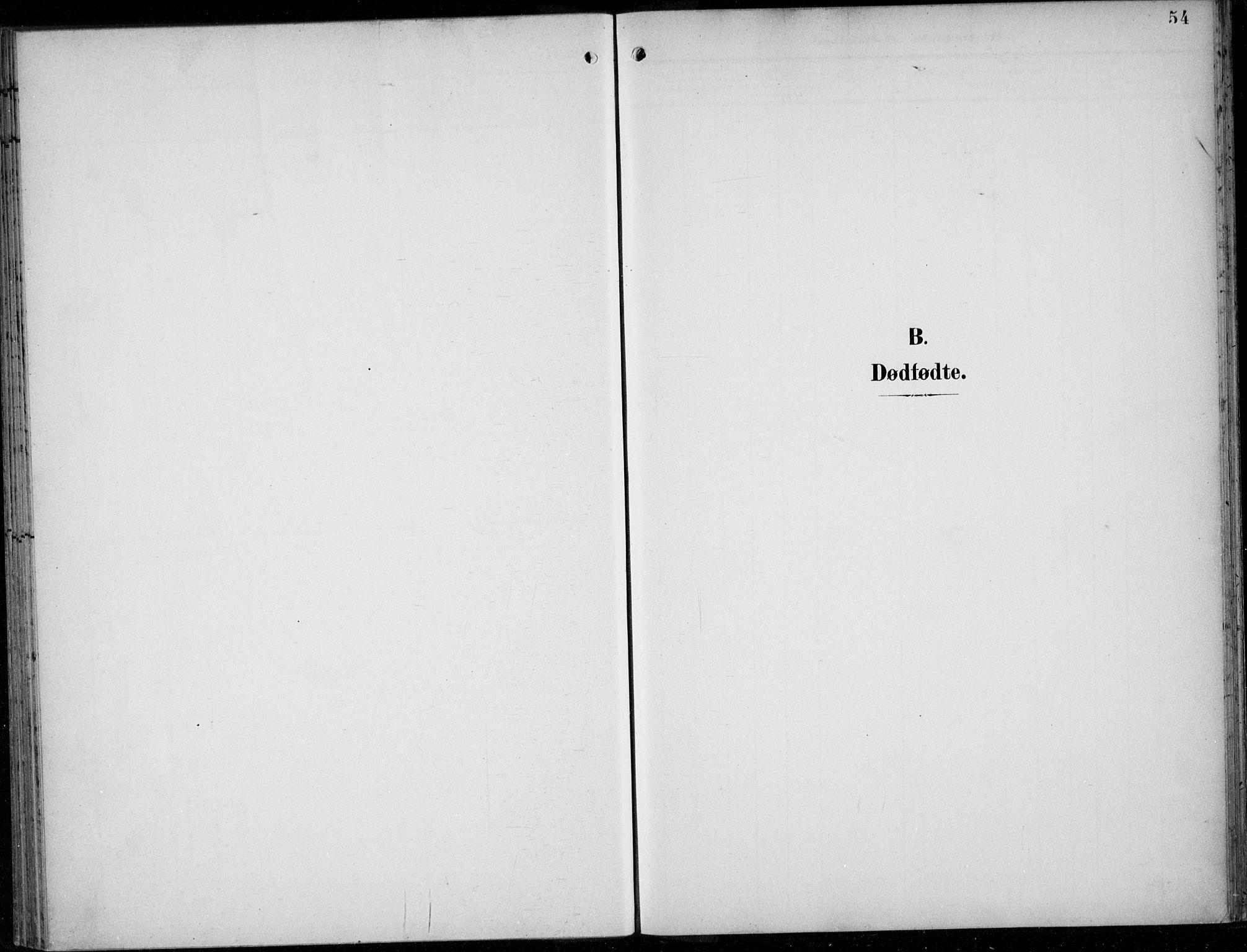 SAB, Parish register (official) no. A  1, 1900-1939, p. 54