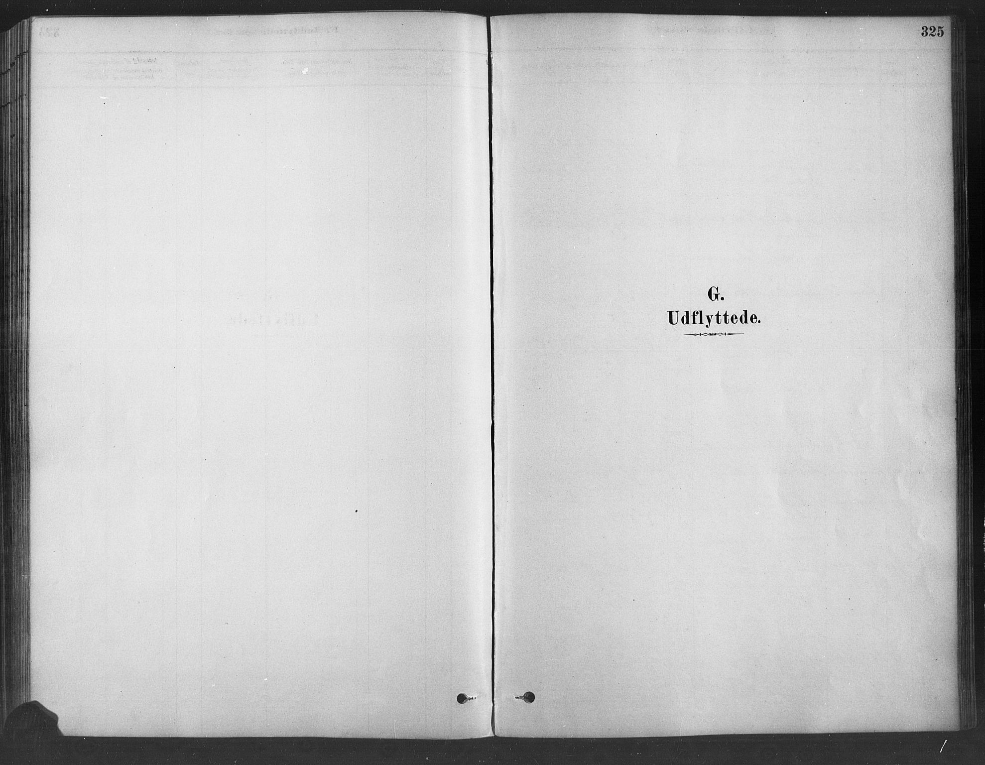 SAH, Fåberg prestekontor, H/Ha/Haa/L0009: Parish register (official) no. 9, 1879-1898, p. 325