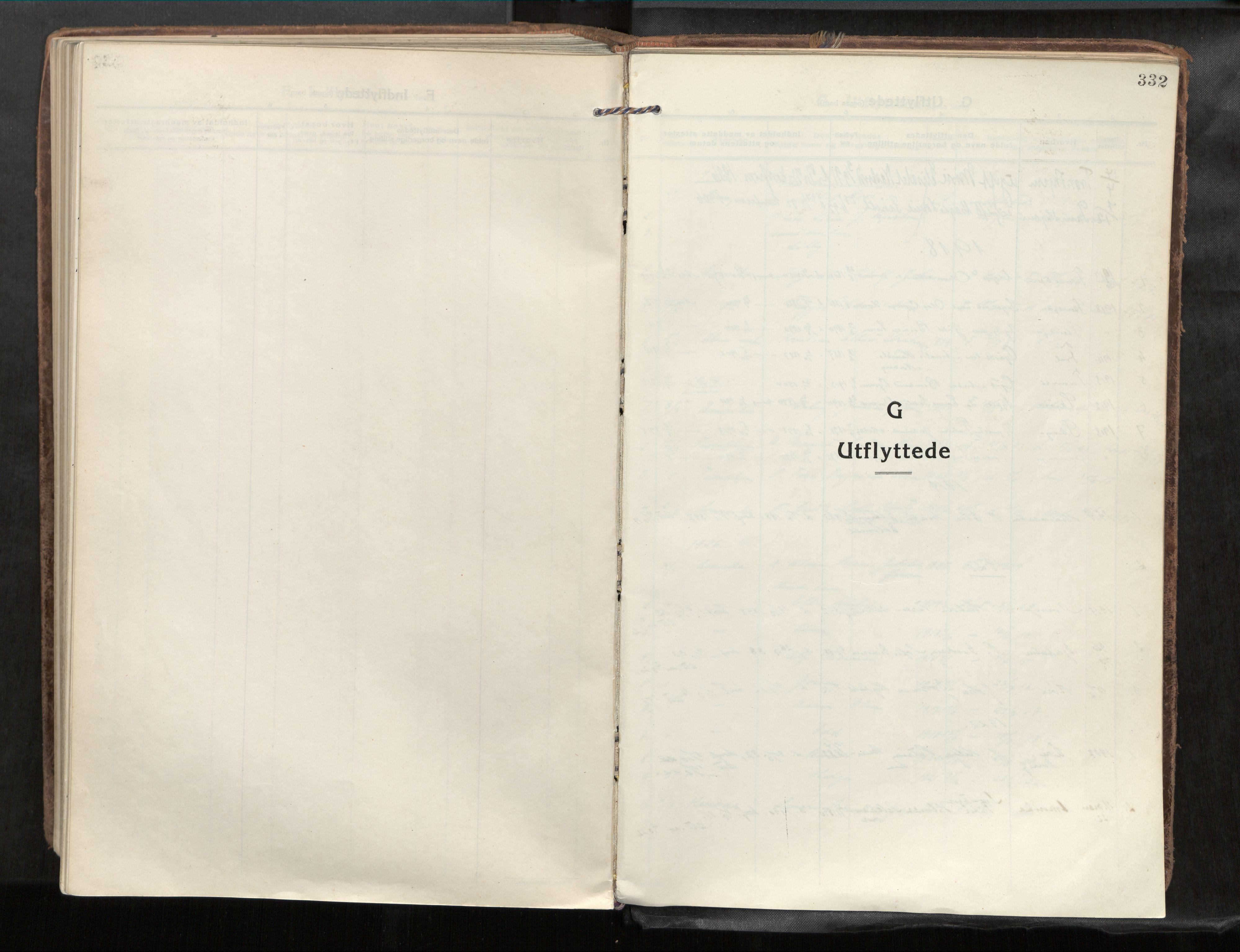 SAT, Verdal sokneprestkontor*, Parish register (official) no. 1, 1917-1932, p. 332
